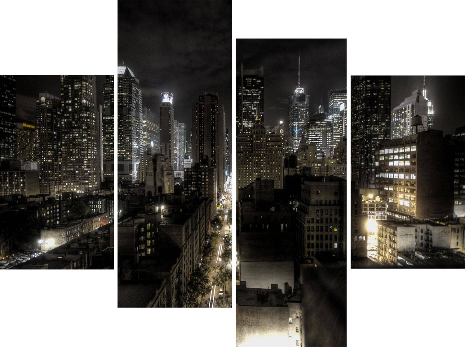 New York City Canvas Wall Art Neat Wall Art Ideas On 3D Wall Art Throughout Most Current New York 3D Wall Art (View 15 of 20)