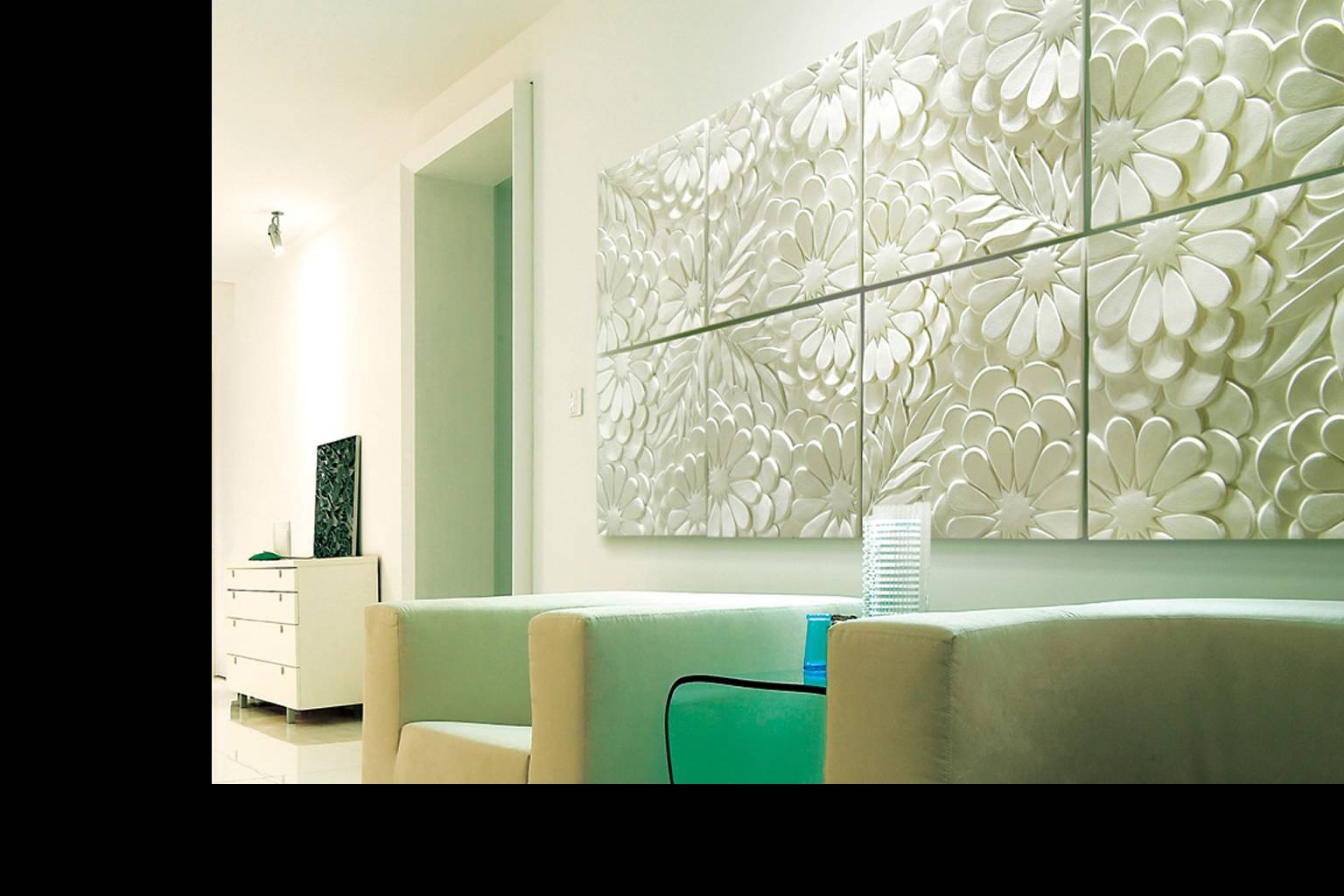 Newdecor 3D Wall Arts & 3Dpanels intended for Most Recently Released Cubes 3D Wall Art