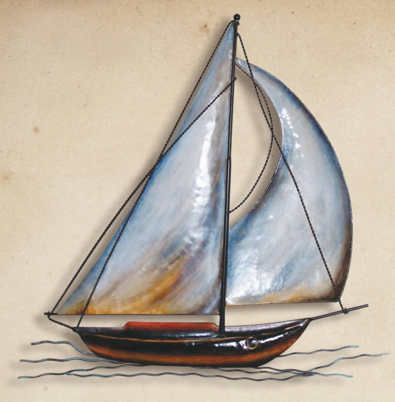 Nice Decoration Sailboat Wall Art Cozy Sailboat Metal Wall Art Regarding Latest Sailboat Metal Wall Art (View 6 of 30)