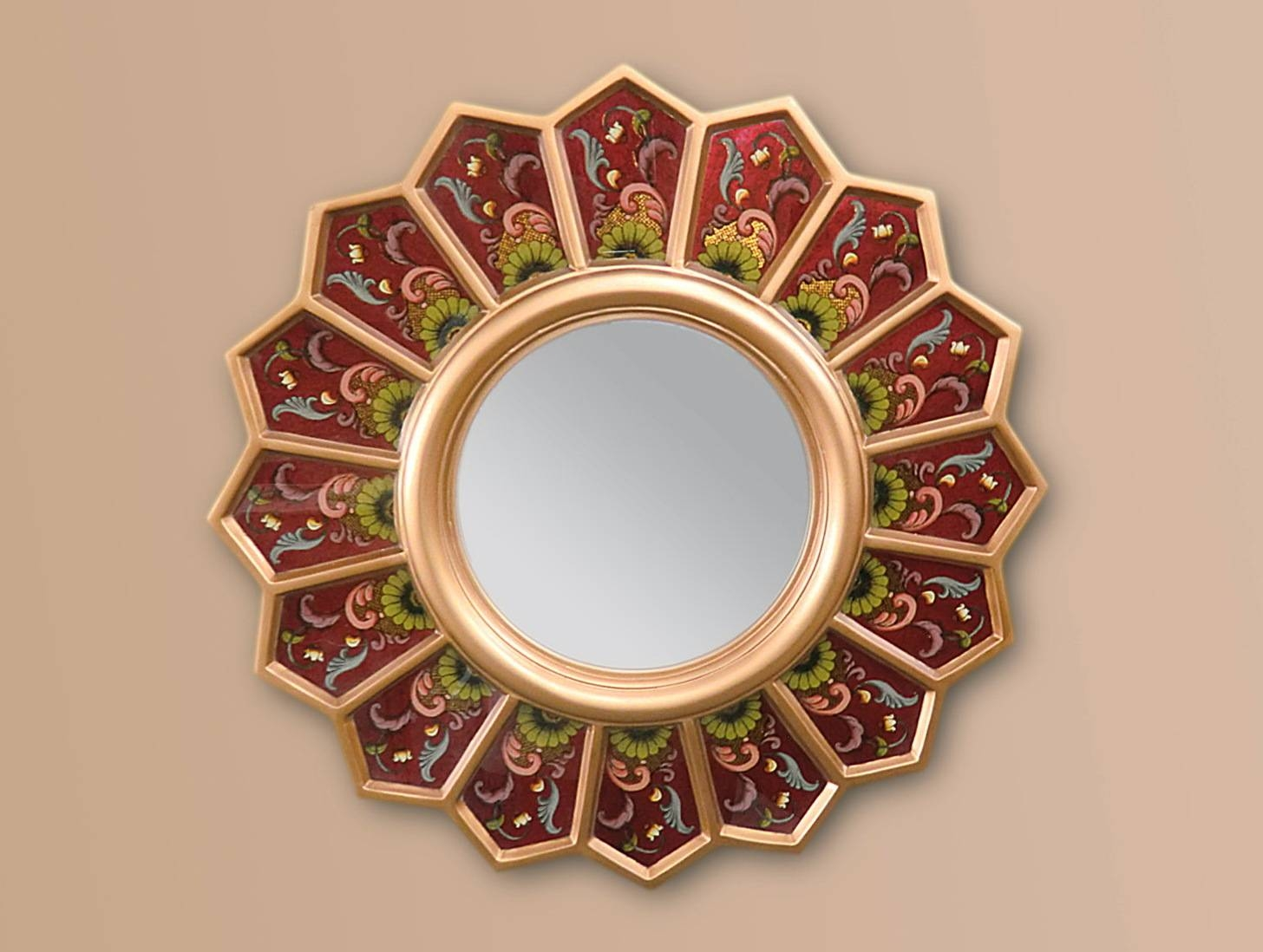 Nice Small Round Mirrors Wall Art Home Design Ideas Photo In Latest Small Round Mirrors Wall Art (Gallery 11 of 20)