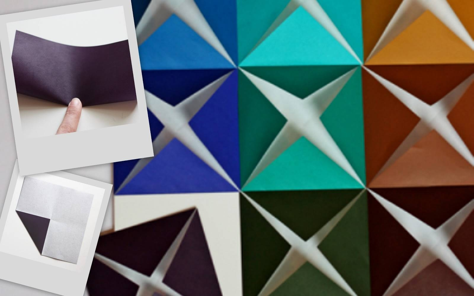 Nine Red: How To: 3 D Paper Wall Art Intended For 2018 3D Triangle Wall Art (View 15 of 20)