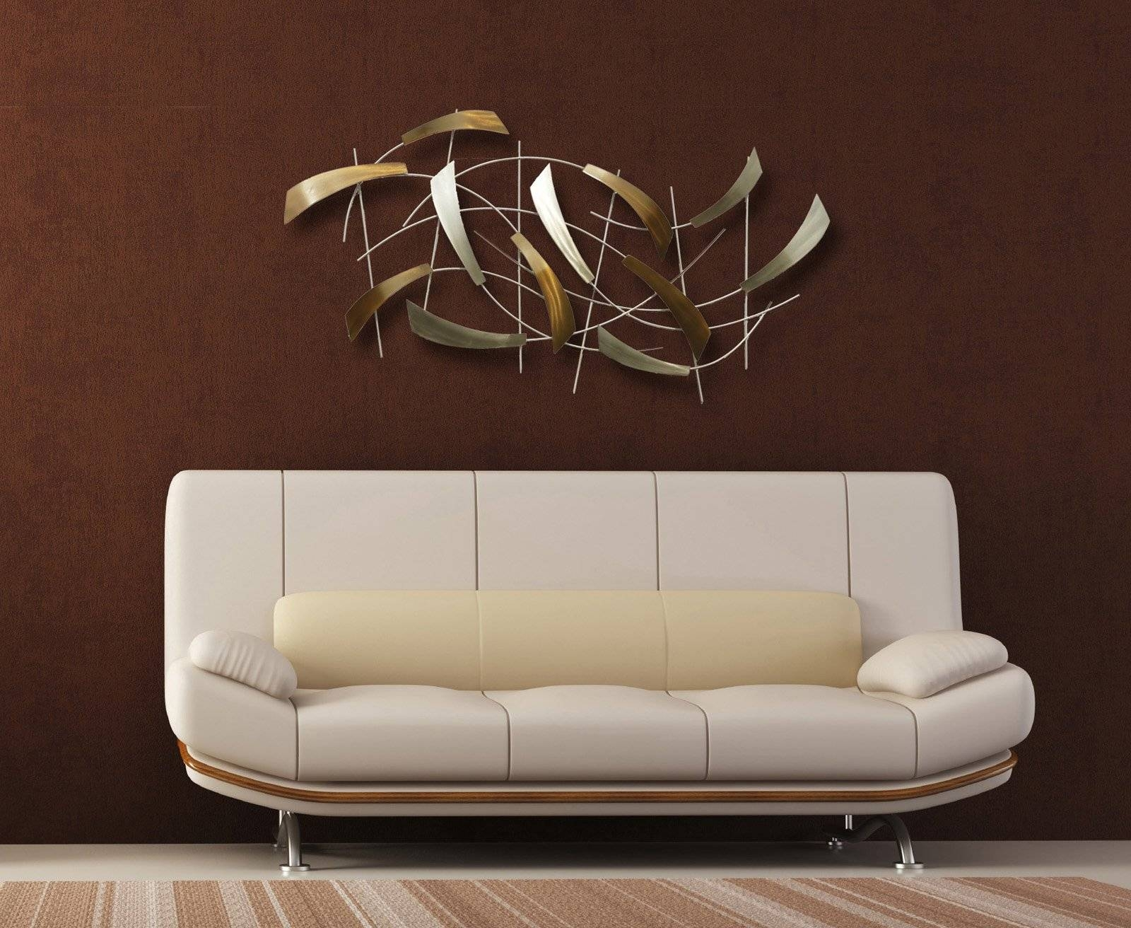 Nova Lighting 12652 Tidal Contemporary Wall Art / Wall Decor Nv-12652 for Most Recently Released Nova Wall Art