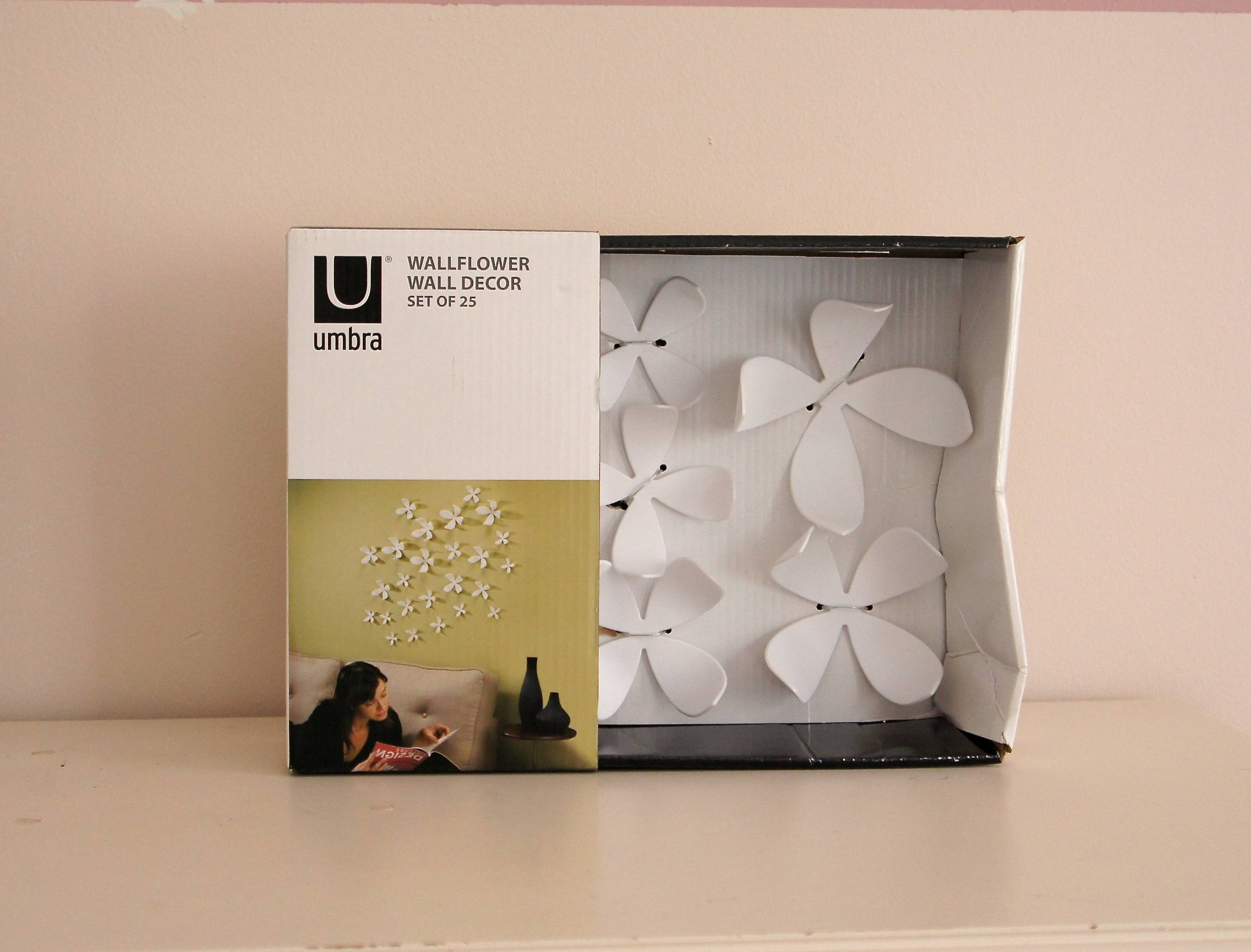 Nursery Art, Now In 3D! With Regard To Latest Umbra 3D Flower Wall Art (View 17 of 20)