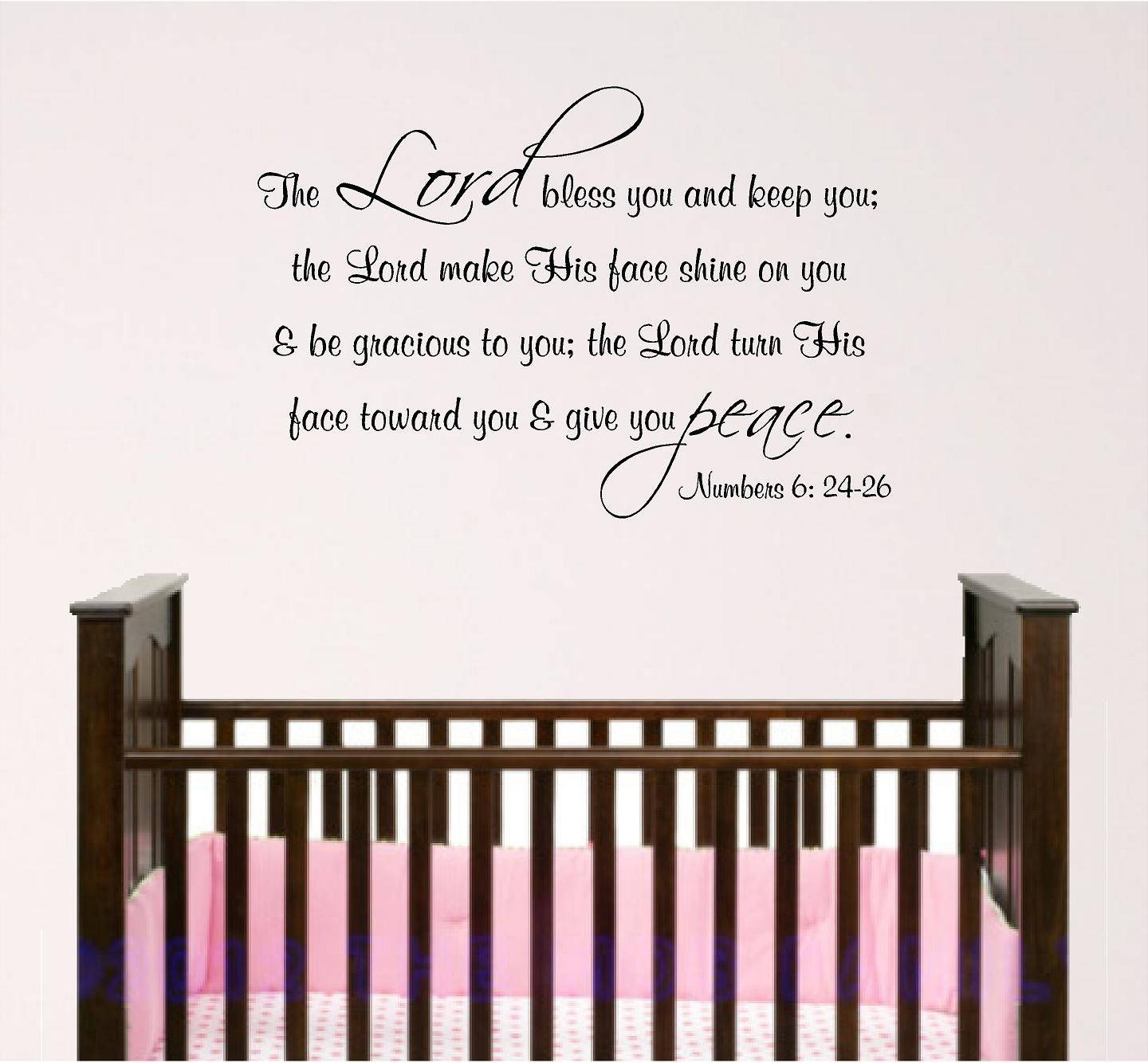 Featured Photo of Nursery Bible Verses Wall Decals