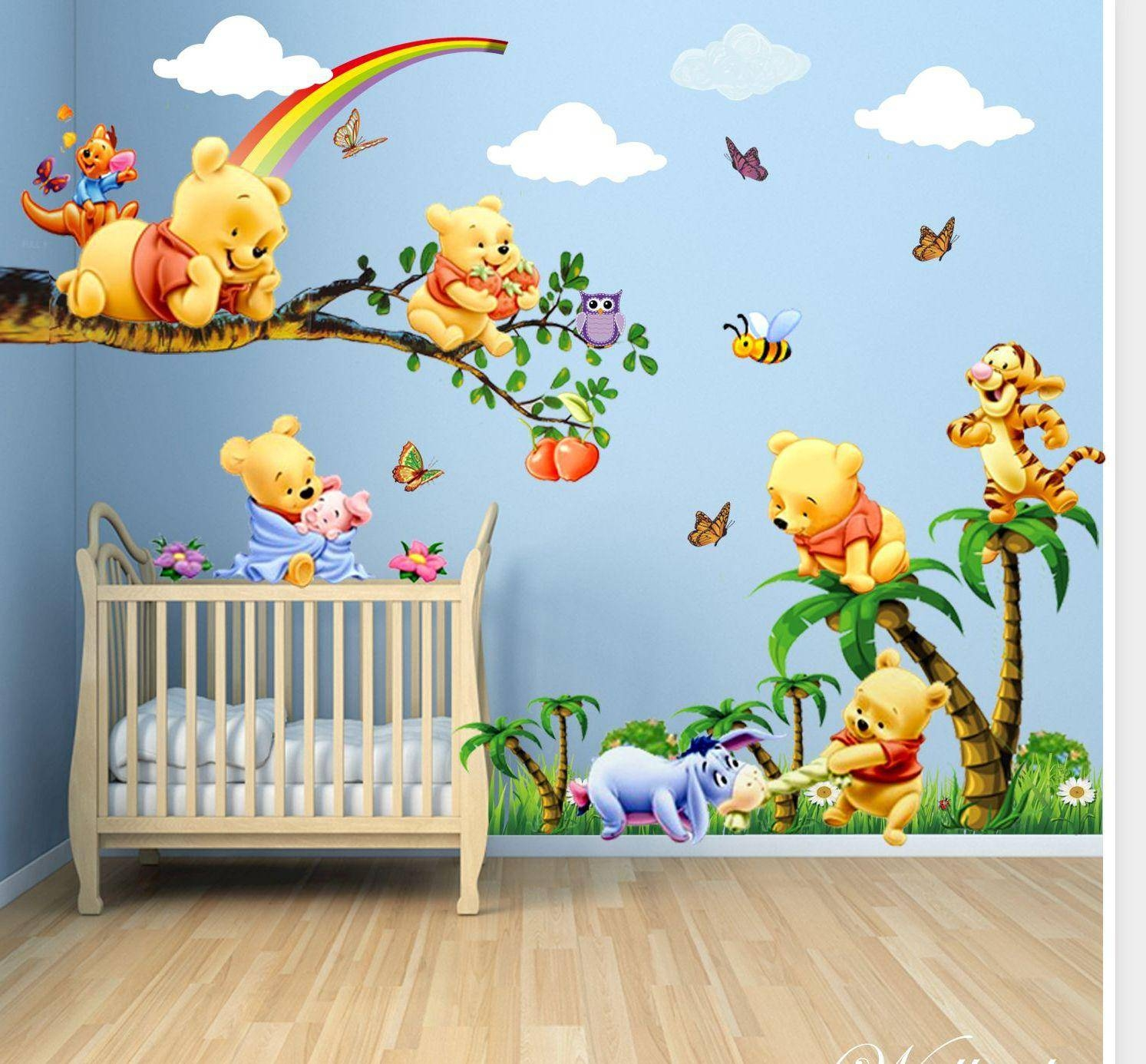 Nursery Wall Decals For Your Kids — Wedgelog Design With Latest Winnie The Pooh Wall Decor (Gallery 18 of 20)