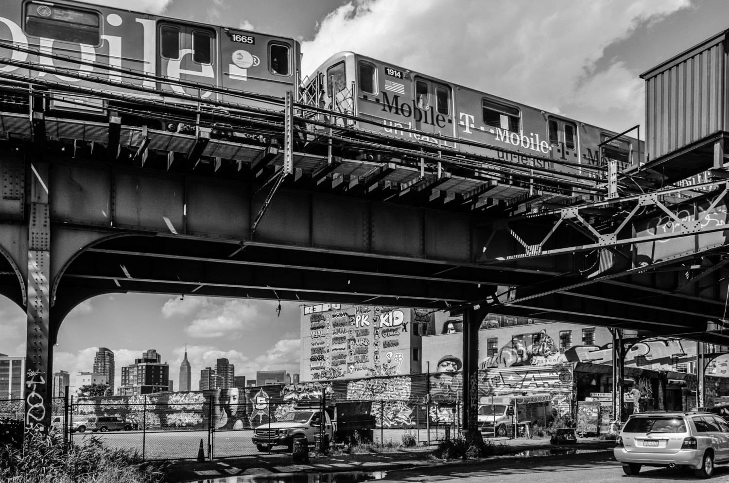 Nyc Photography 5 Pointz Black & White Fine Art Print New with regard to Best and Newest New York City Wall Art