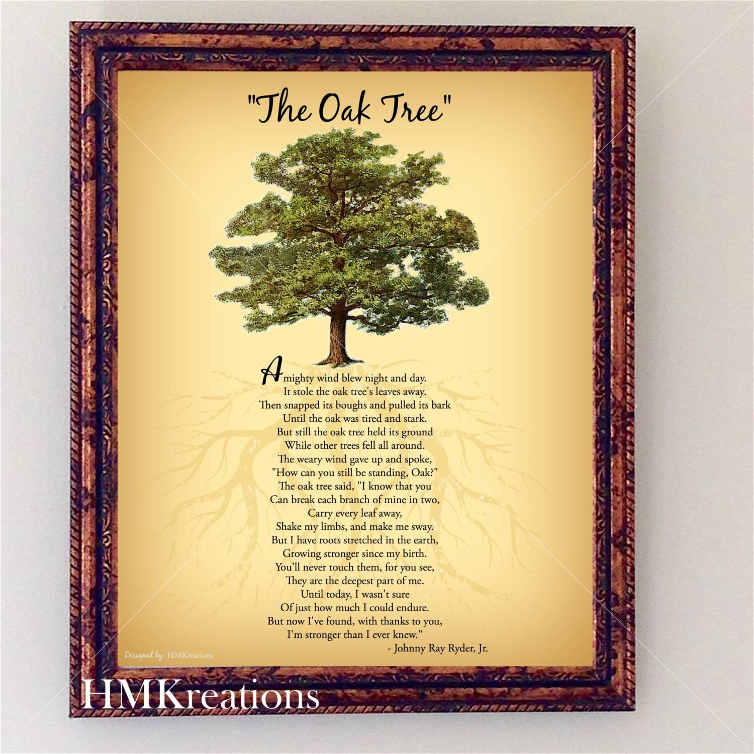 View Photos of Oak Tree Wall Art (Showing 2 of 30 Photos)