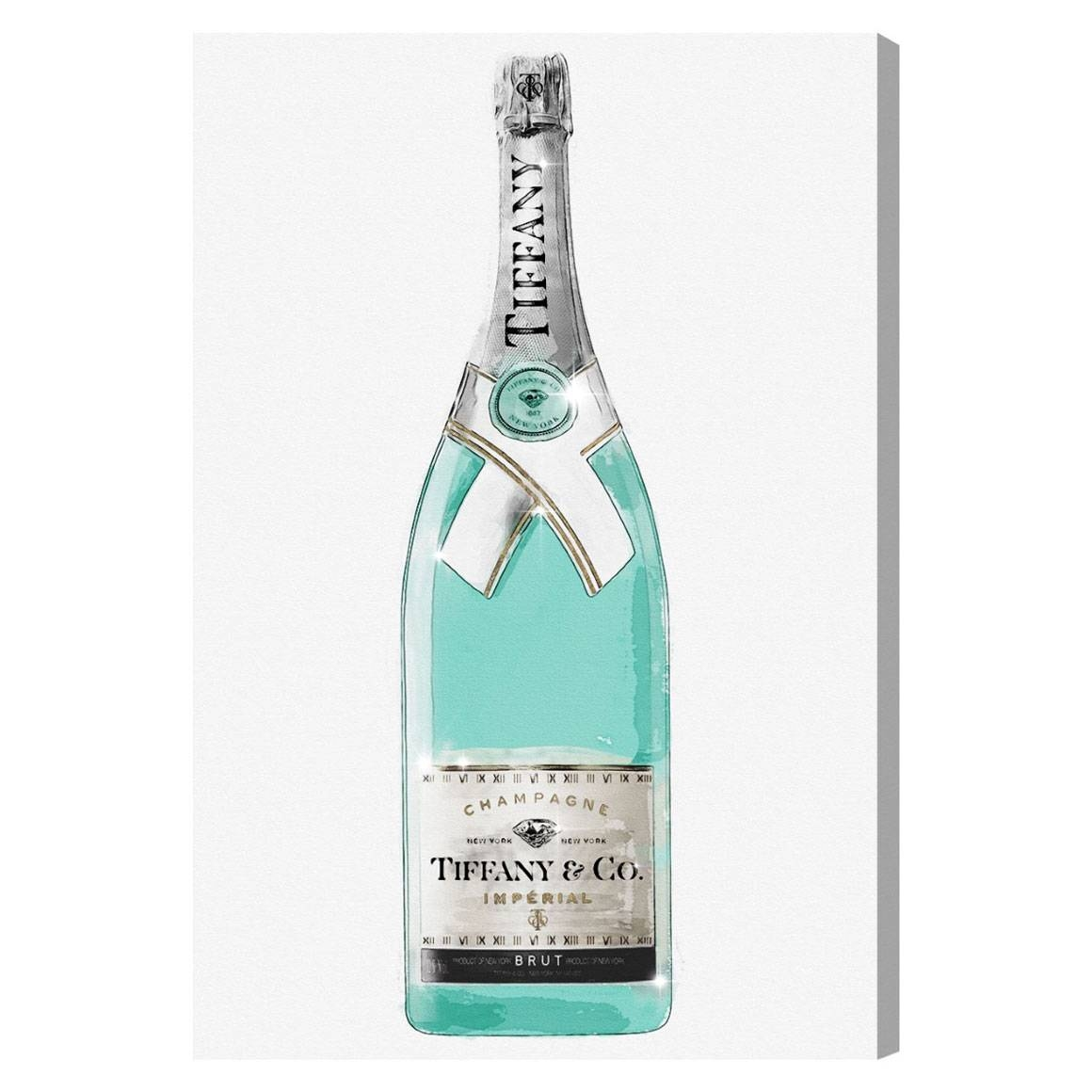 Oliver Gal Priceless Champagne Canvas Wall Art In Most Current Tiffany And Co Wall Art (View 9 of 30)
