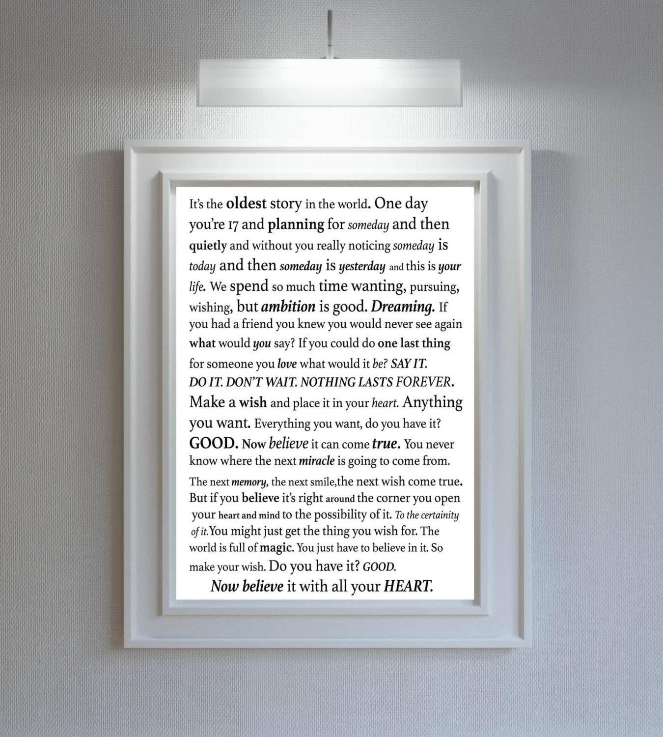 One Tree Hill Quotes/one Tree Hill /one Tree Hill Pertaining To Most Recently Released Coco Chanel Quotes Framed Wall Art (View 25 of 30)