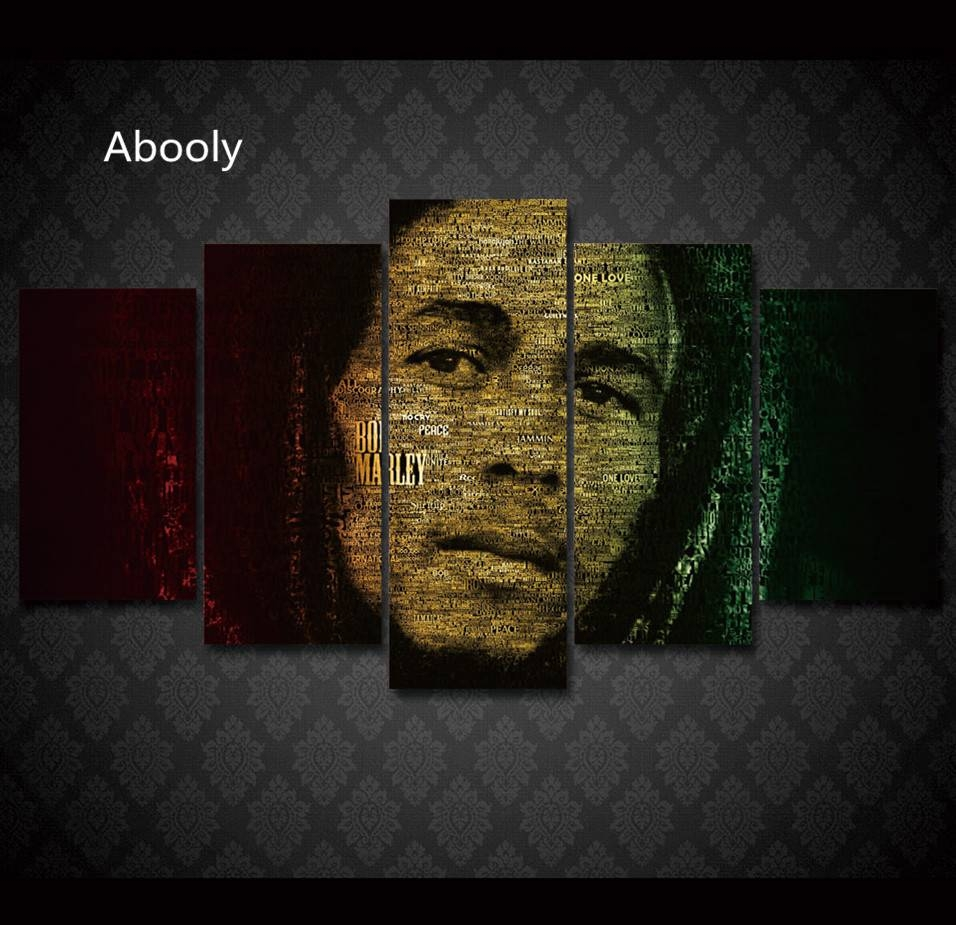 Online Buy Wholesale Bob Marley Canvas From China Bob Marley Intended For Most Recent Bob Marley Canvas Wall Art (View 18 of 25)