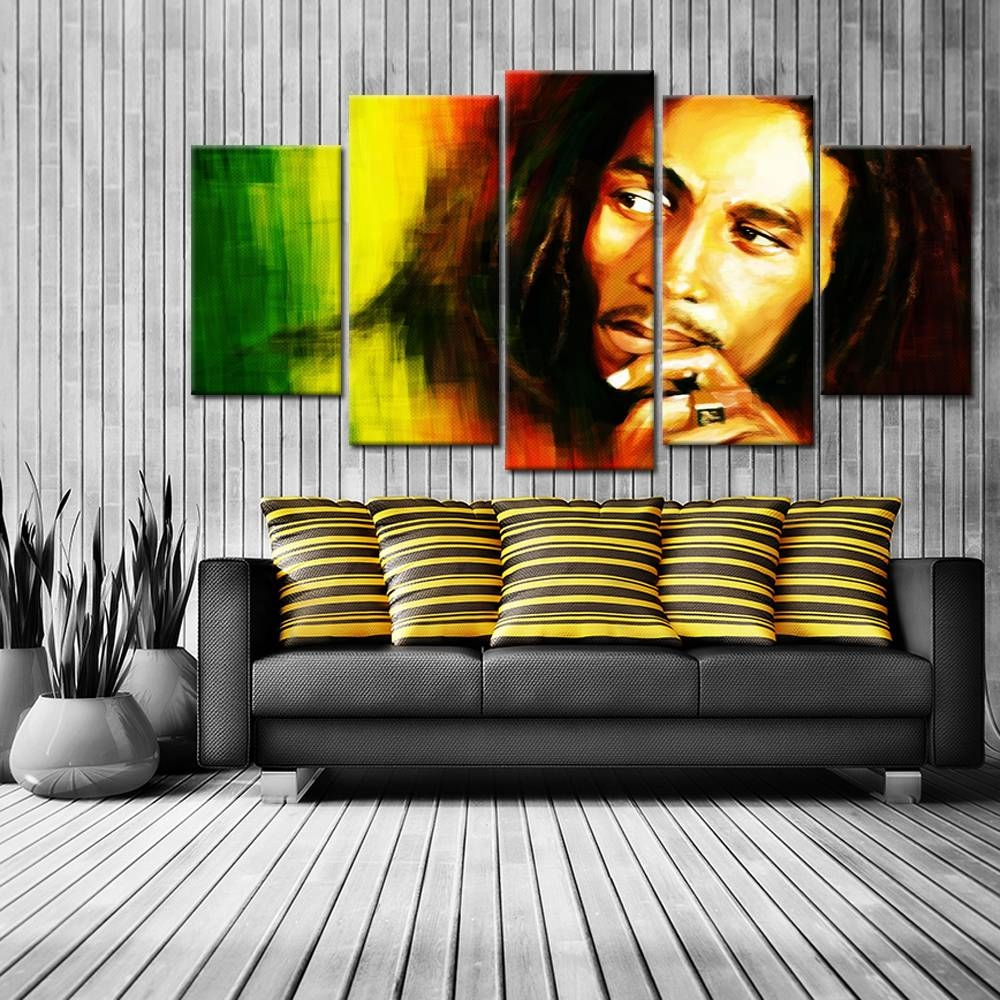 Online Buy Wholesale Bob Marley Canvas From China Bob Marley Regarding 2017 Bob Marley Canvas Wall Art (View 19 of 25)