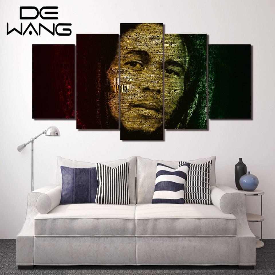 Online Buy Wholesale Bob Marley Canvas From China Bob Marley Regarding Most Recent Bob Marley Canvas Wall Art (Gallery 15 of 25)