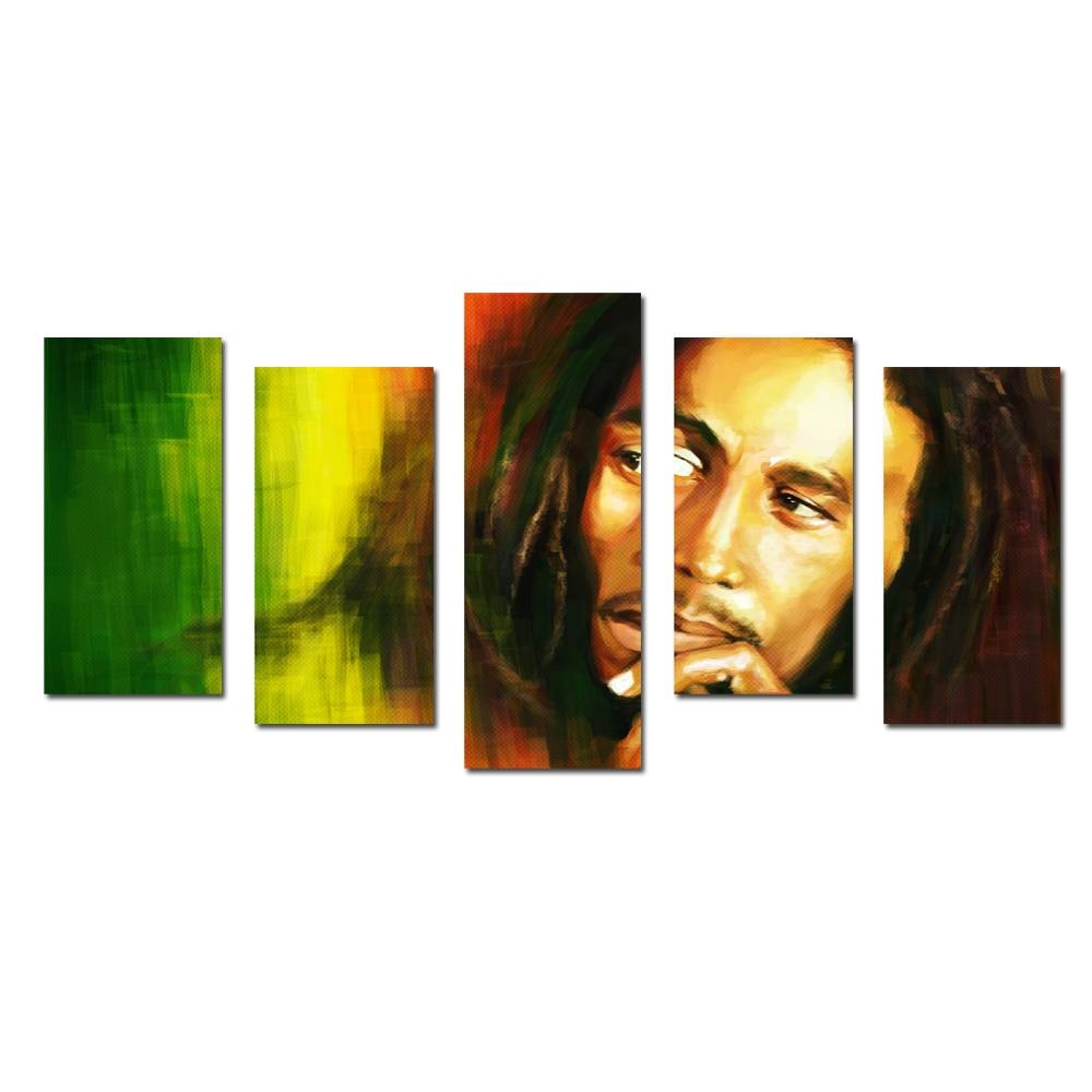 Online Buy Wholesale Bob Marley Canvas From China Bob Marley Regarding Newest Bob Marley Canvas Wall Art (Gallery 4 of 25)