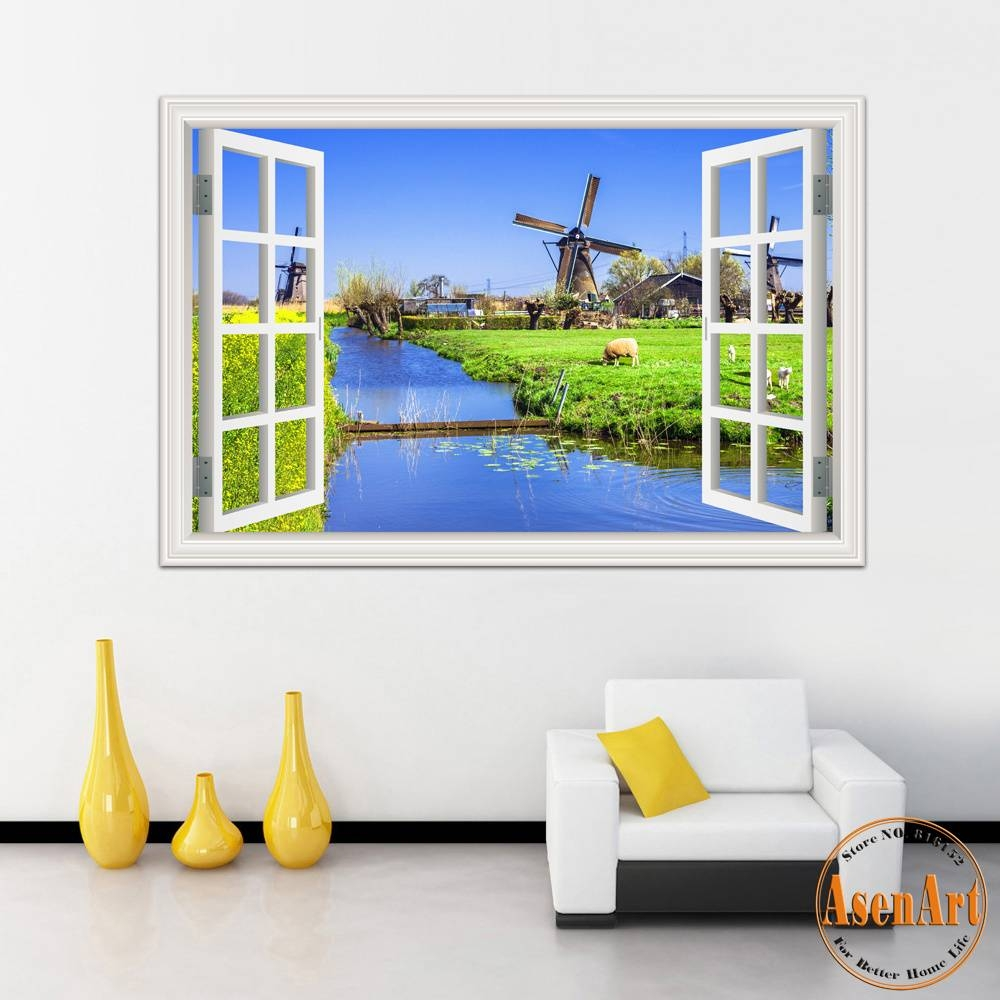 Online Buy Wholesale Vinyl Wall Art Decals From China Vinyl Wall For Most Recently Released 3D Wall Art Wholesale (Gallery 13 of 20)