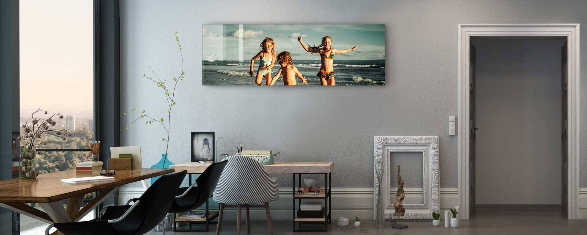 Online Digital Glass Screen Large Photo Printing | Picture Prints With Most Current Glass Wall Artworks (Gallery 14 of 15)