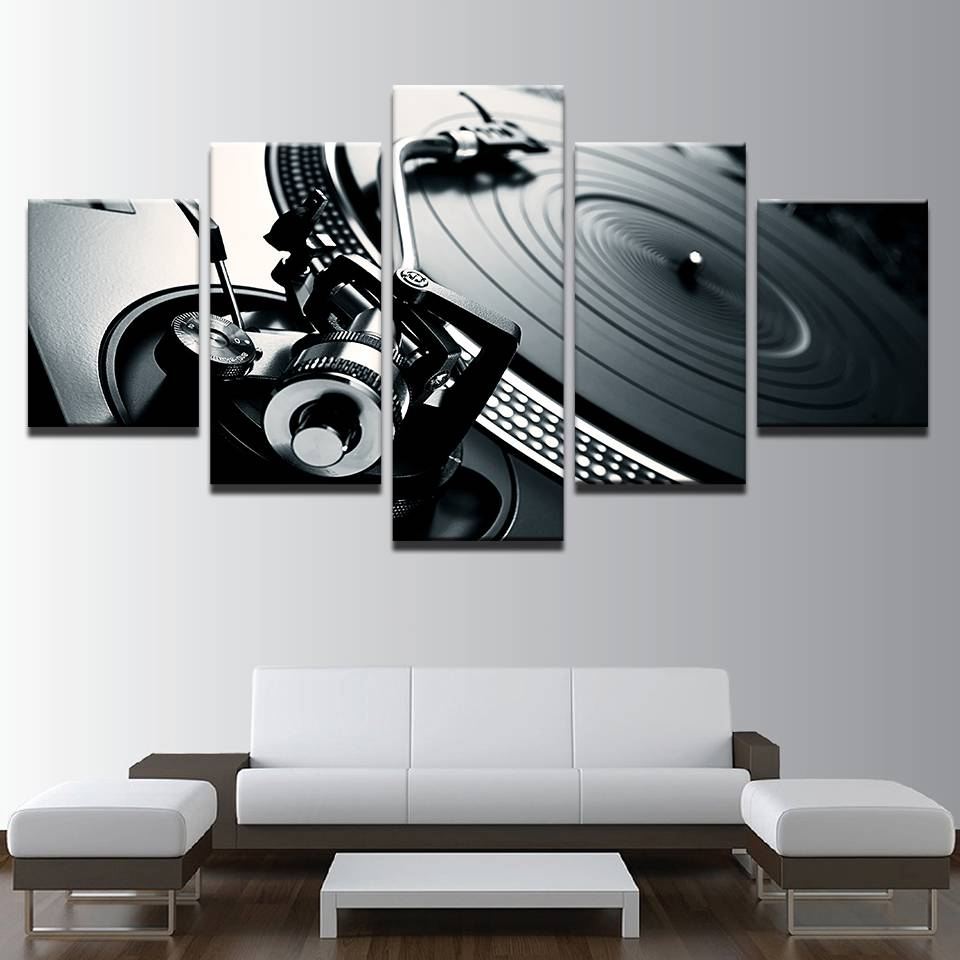 Online Shop Canvas Photo Style Modular Wall Art Pictures Home Regarding Best And Newest Modular Wall Art (View 20 of 25)