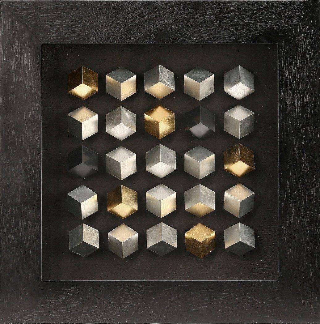 Online Store: Modern 3D Shadow Box , Cube 3D Wall Art For For Wall Inside Recent Cubes 3D Wall Art (Gallery 11 of 20)