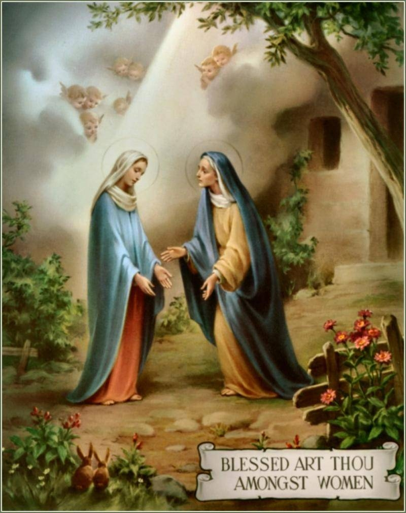 Order Of The Most Holy Mary Theotokos – Is The Hail Mary Biblical? Throughout Most Current Fruit Of The Spirit Artwork (View 5 of 30)