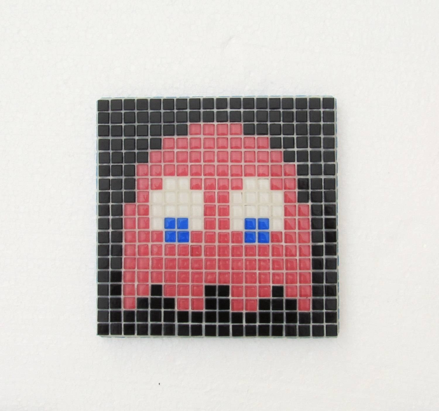 Original Pacman Mosaic Wall Art Pacman Ghost Speedy Pinky Intended For Latest Pixel Mosaic Wall Art (View 6 of 20)