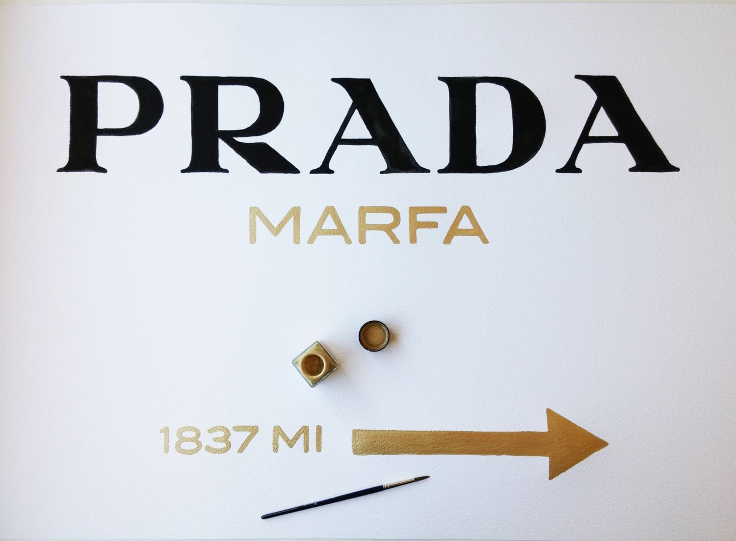 Featured Photo of Prada Marfa Wall Art