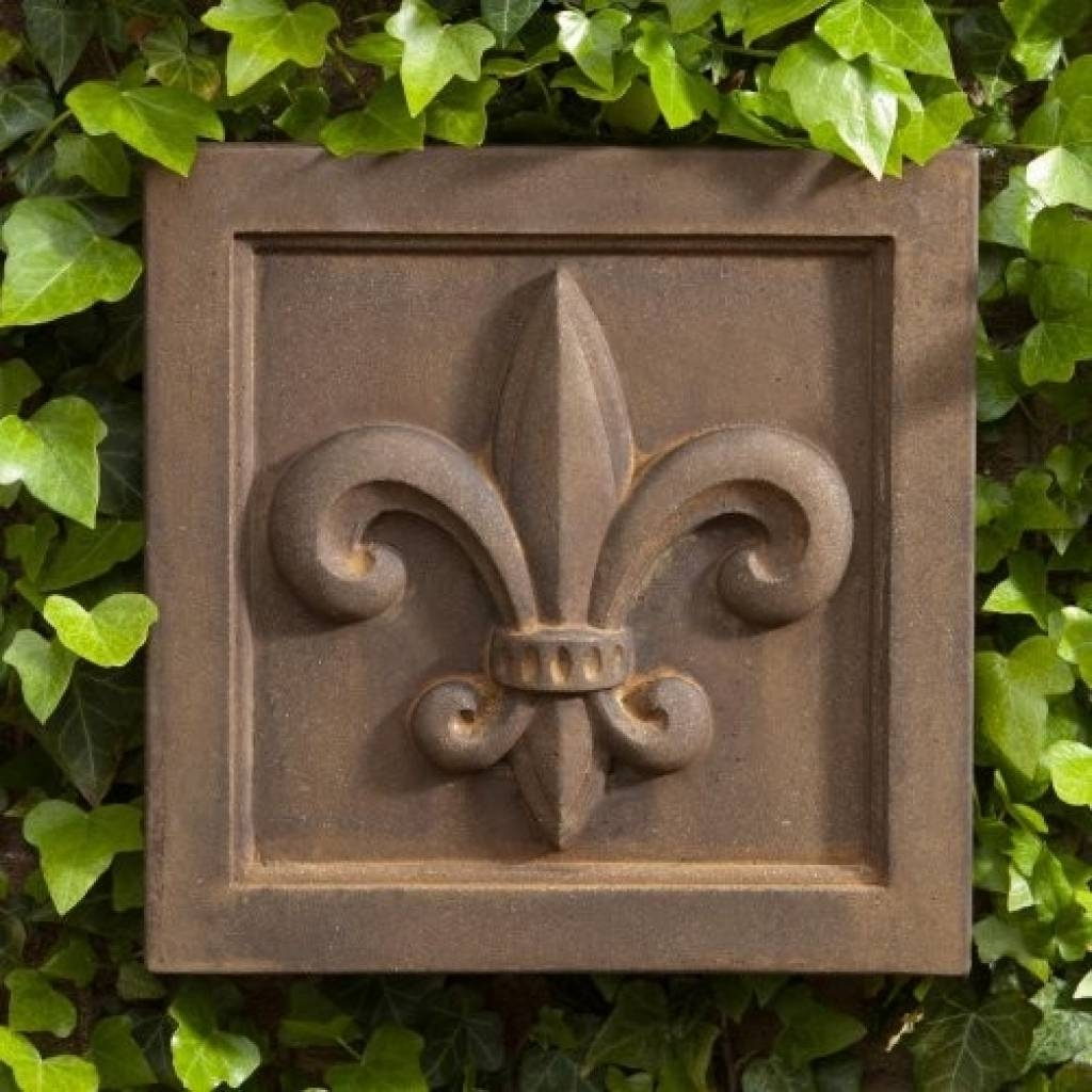 Outdoor Decor Wall Art | Room Ornament Fleur De Lis Outdoor Wall Intended For Newest Metal Fleur De Lis Wall Art (View 22 of 25)
