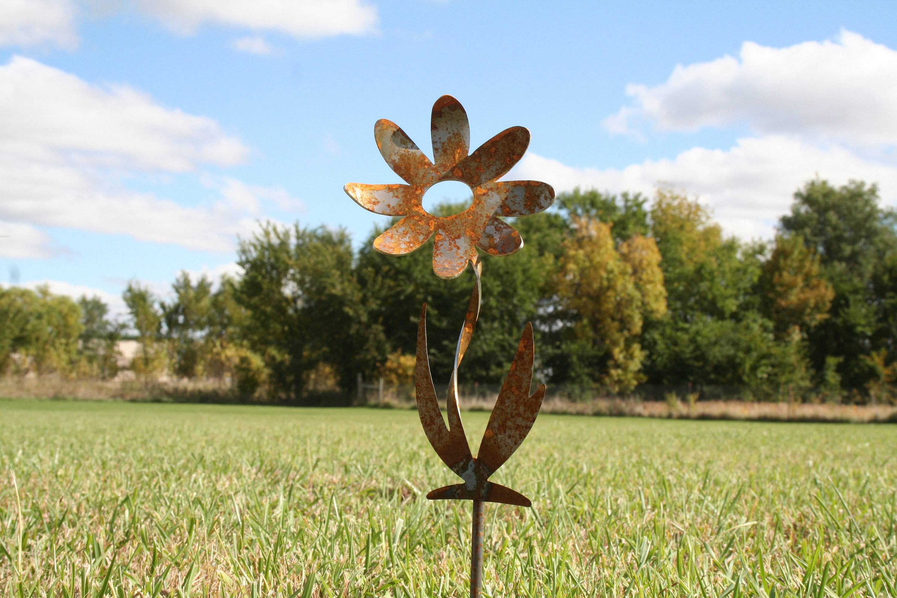 Outdoor Metal Decor – 81 Metal Art With Most Current Metal Sunflower Yard Art (View 13 of 26)