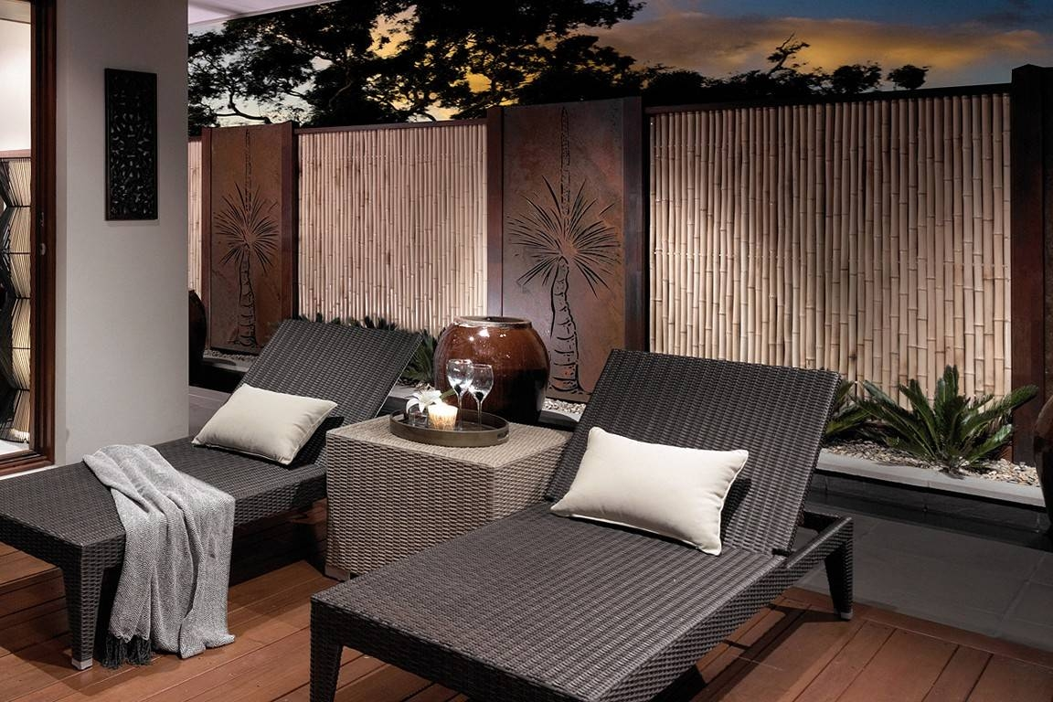 Outdoor Wall Art For Beautiful Yet Attractive Exterior Design In Most Popular Contemporary Outdoor Wall Art (View 4 of 20)