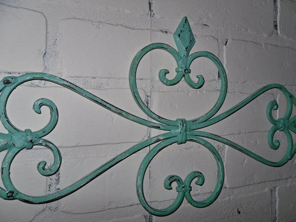 Outdoor Wrought Iron Wall Art : Art Outdoor Wrought Iron Wall Pertaining To Most Current Wrought Iron Garden Wall Art (View 11 of 25)