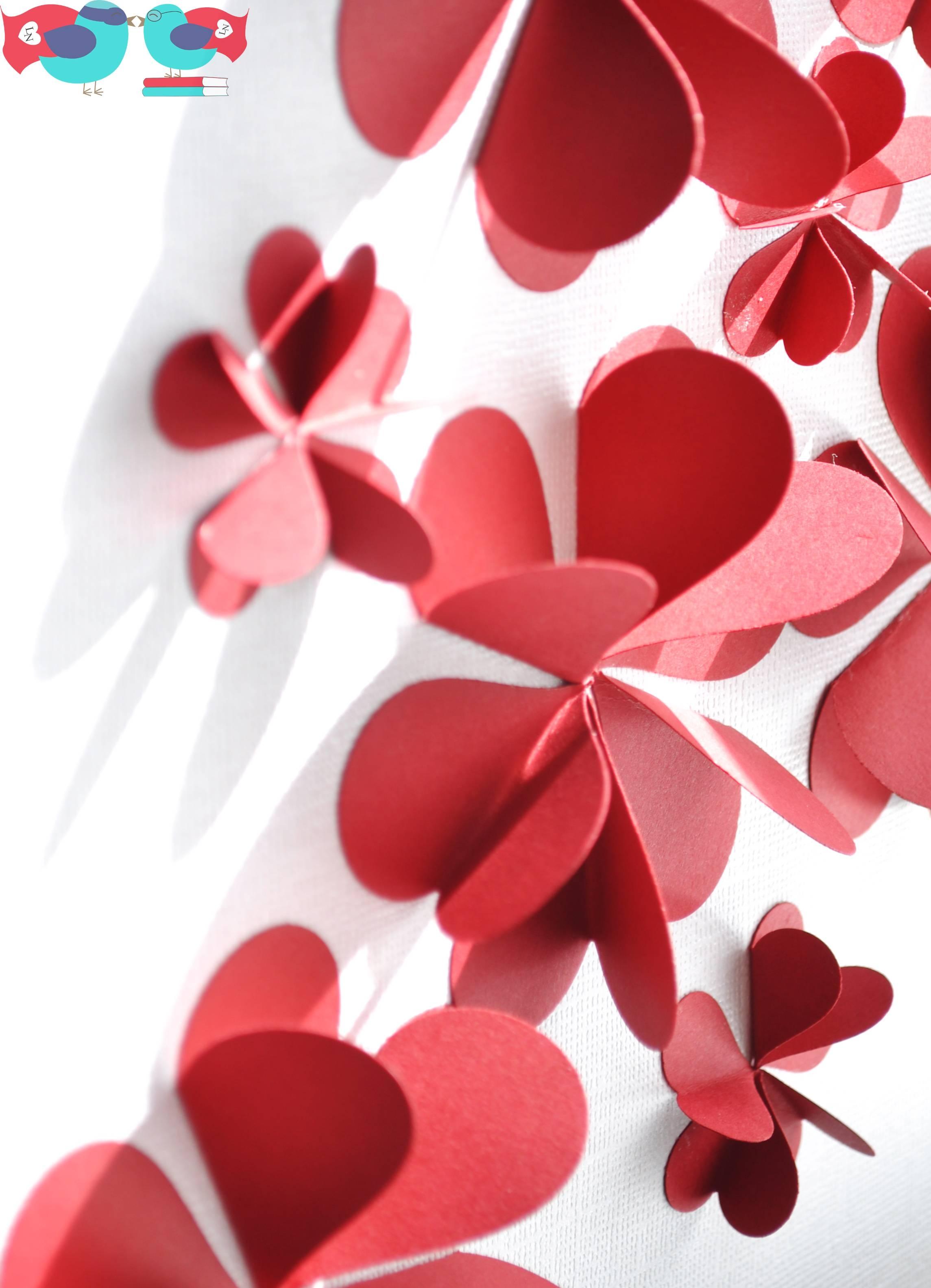 Outstanding Flower Burst 3D Metal Wall Art Home Decor Wall Sticker In Latest Heart 3D Wall Art (View 18 of 20)
