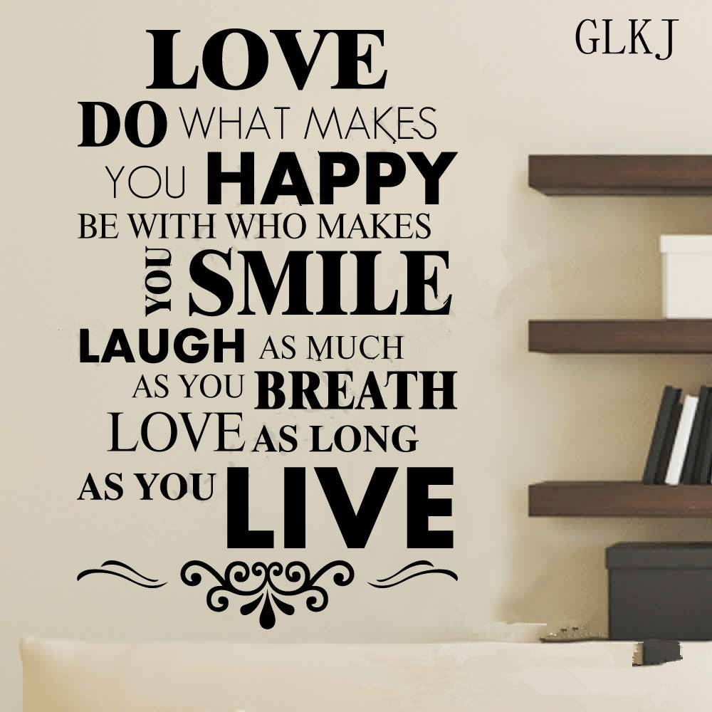 Quotes About Love: 30 Best Collection Of Inspirational Sayings Wall Art