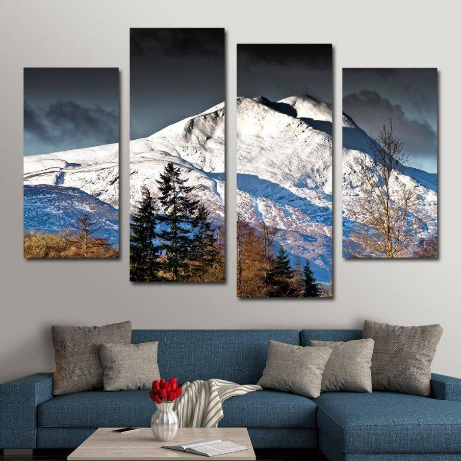 Outstanding Multi Panel Canvas Art Uk Hand Painted Huge Multiple Intended For 2018 Multiple Panel Wall Art (View 10 of 20)