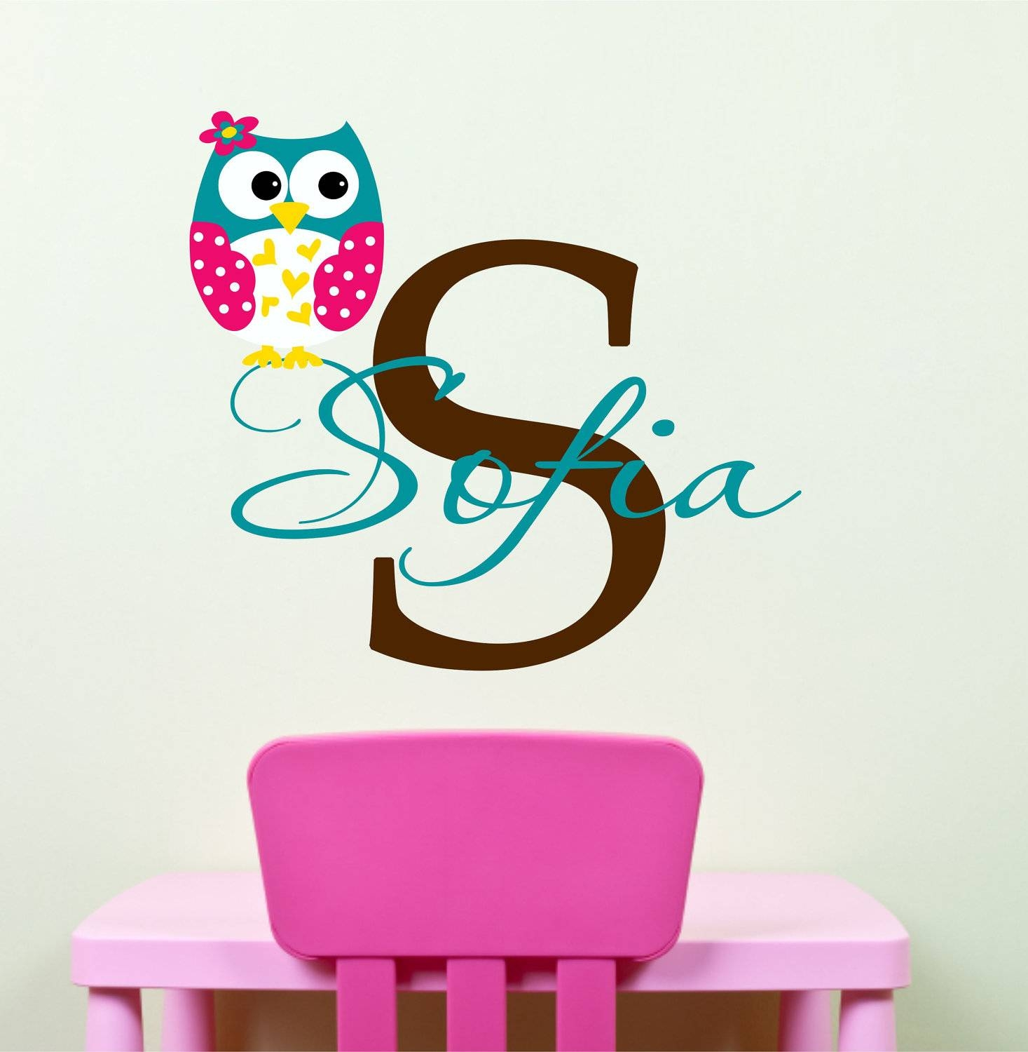 Owl Wall Decal | Roselawnlutheran In 2017 Owl Wall Art Stickers (View 11 of 15)
