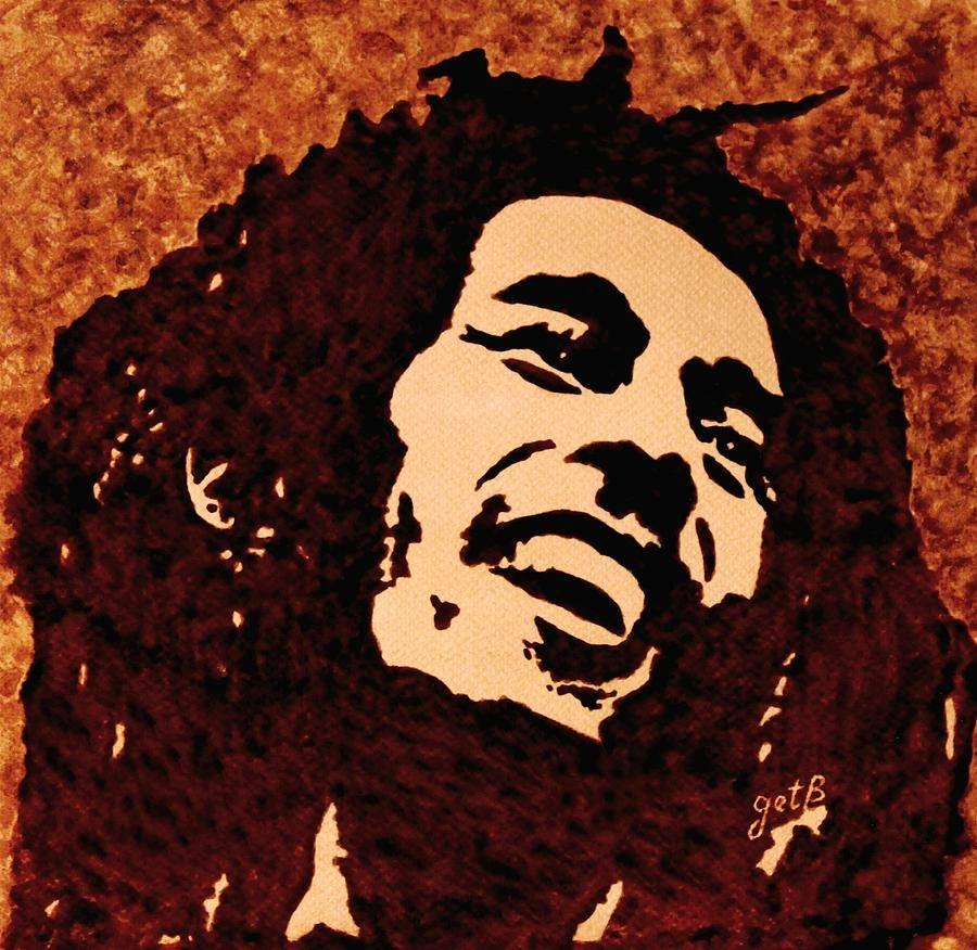 Painting Bob Marley Paintinggeorgeta Blanaru For Most Popular Bob Marley Canvas Wall Art (View 22 of 25)