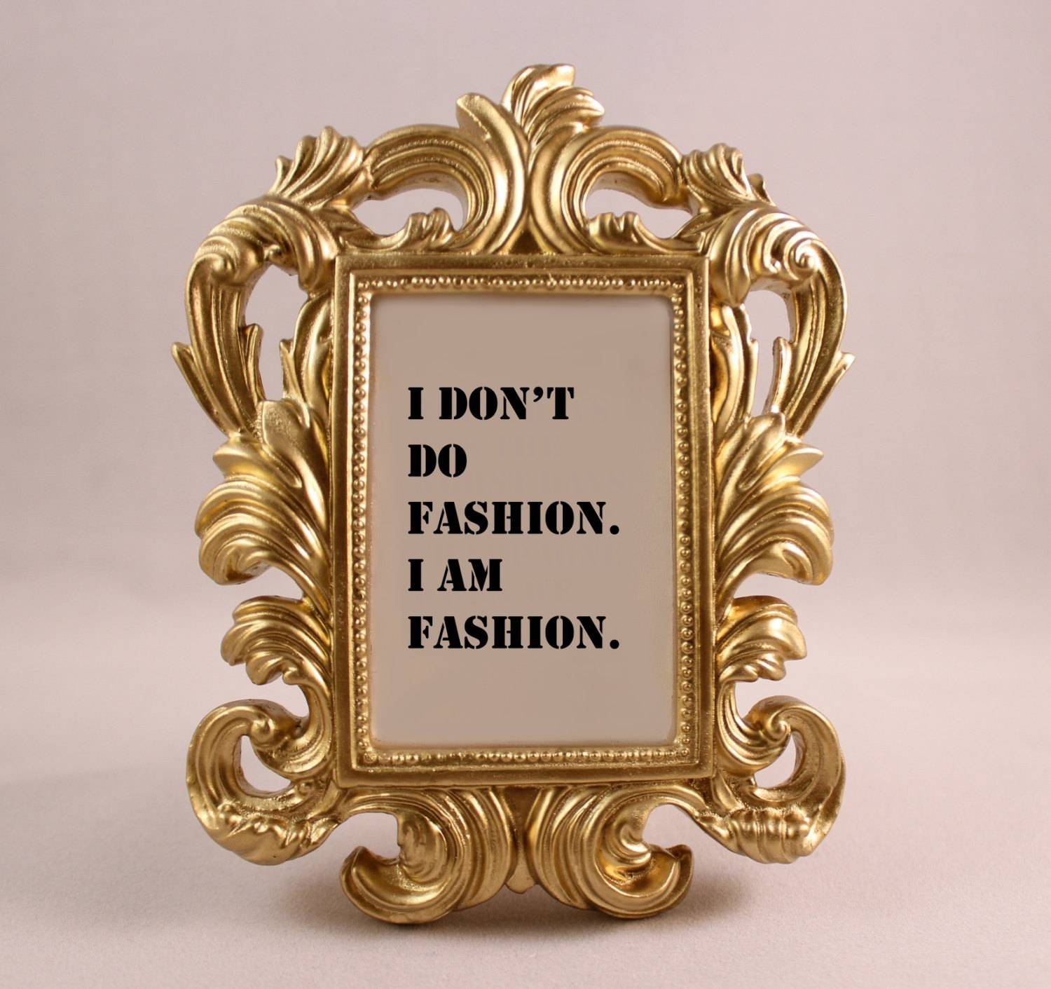 Painting Frames Heres A Little Rococo Style Frame ~ Loversiq In Most Current Coco Chanel Quotes Framed Wall Art (View 26 of 30)