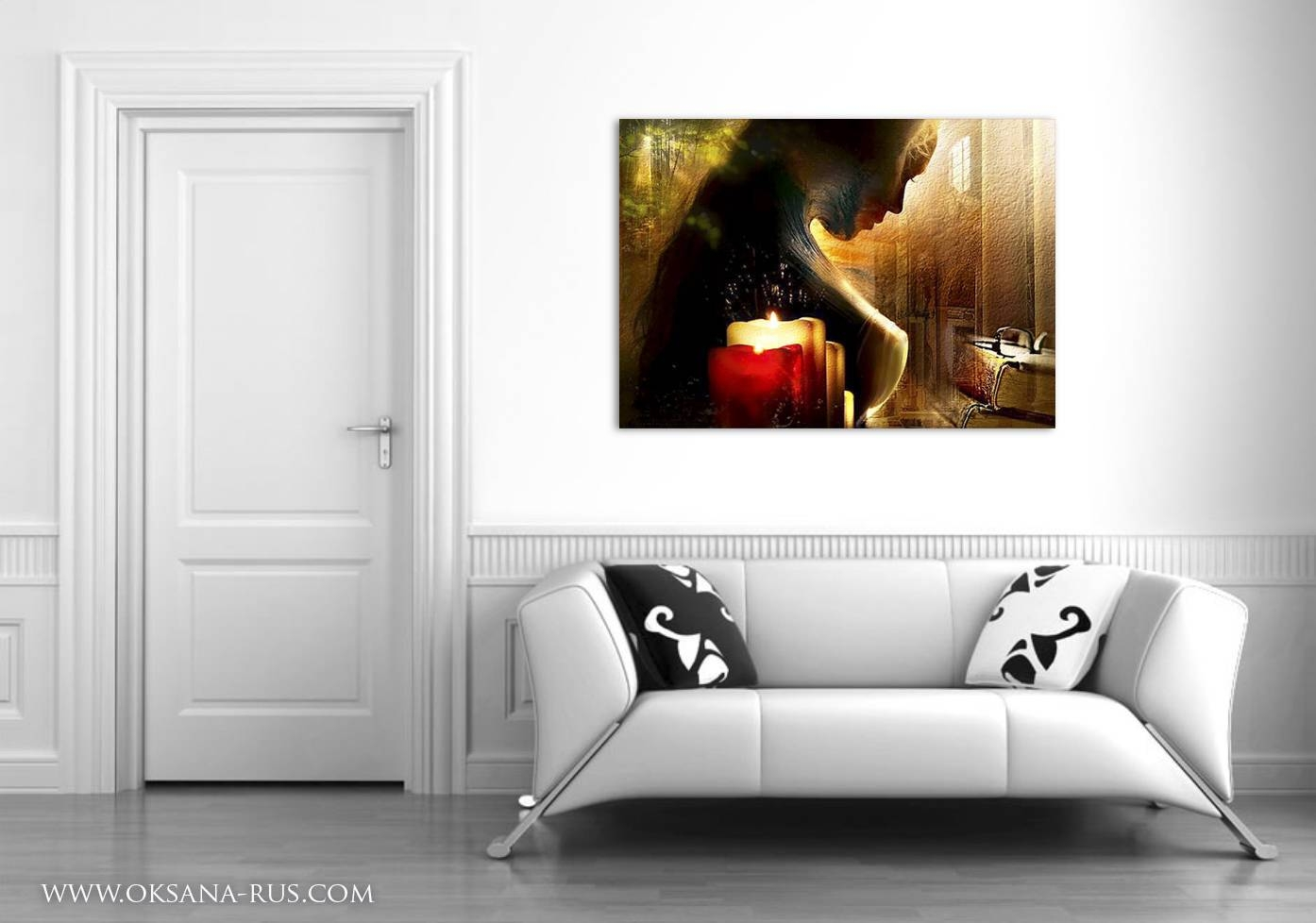 Painting Light Art Print Sensual Girl Throughout Most Recent Sensual Wall Art (View 9 of 20)