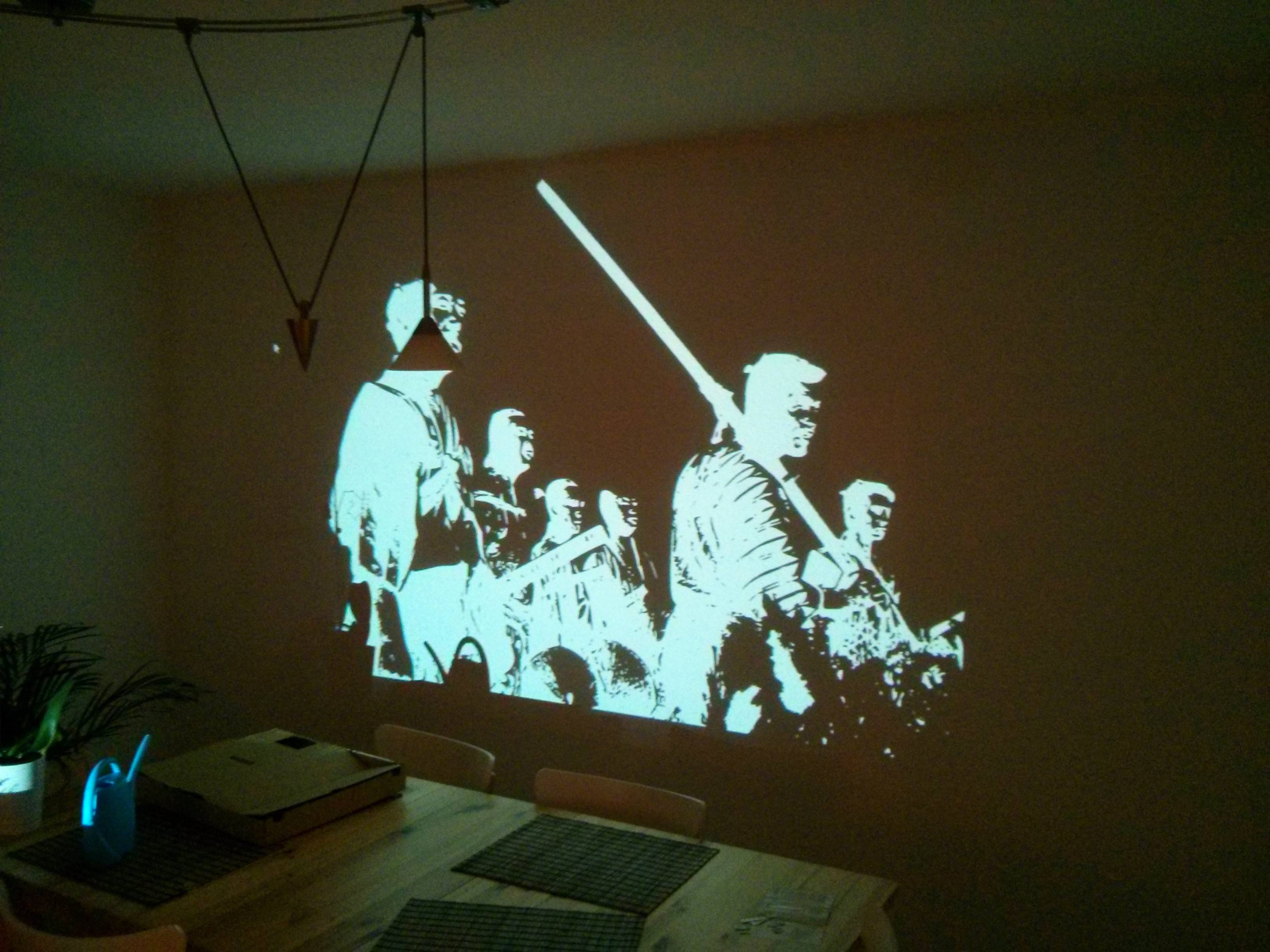 Painting Seven Samurai – Making Of – Album On Imgur For Most Popular Samurai Wall Art (View 6 of 20)