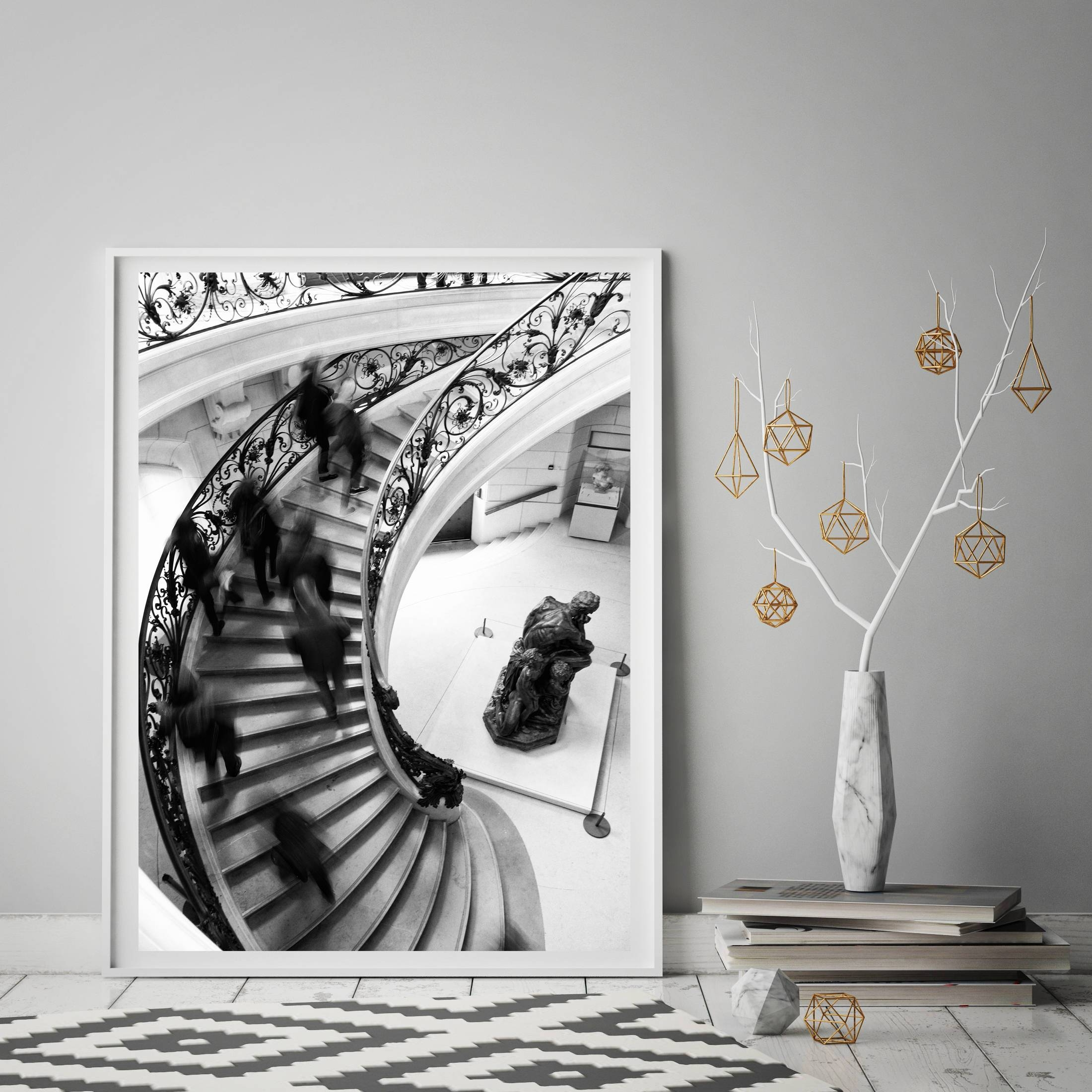 Paris Artwork, Boho Chic Wall Art, Extra Large Wall Art, New Intended For Best And Newest Paris Themed Wall Art (View 11 of 20)