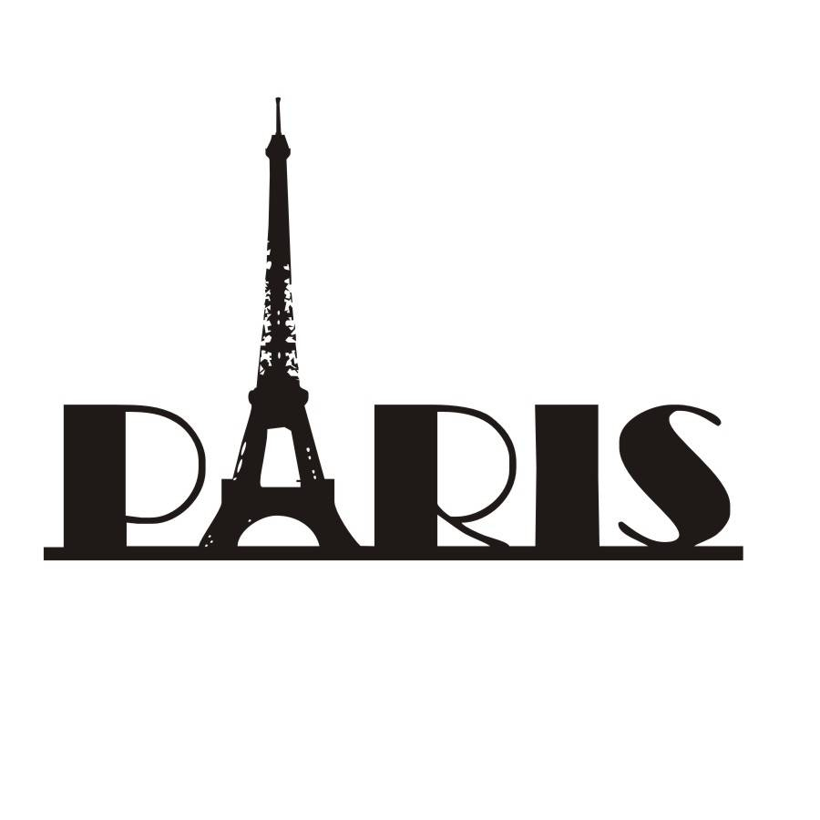 Paris Creative Quotes Wall Stickers Eiffel Tower Design Diy Vinyl In Best And Newest Paris Vinyl Wall Art (View 13 of 20)