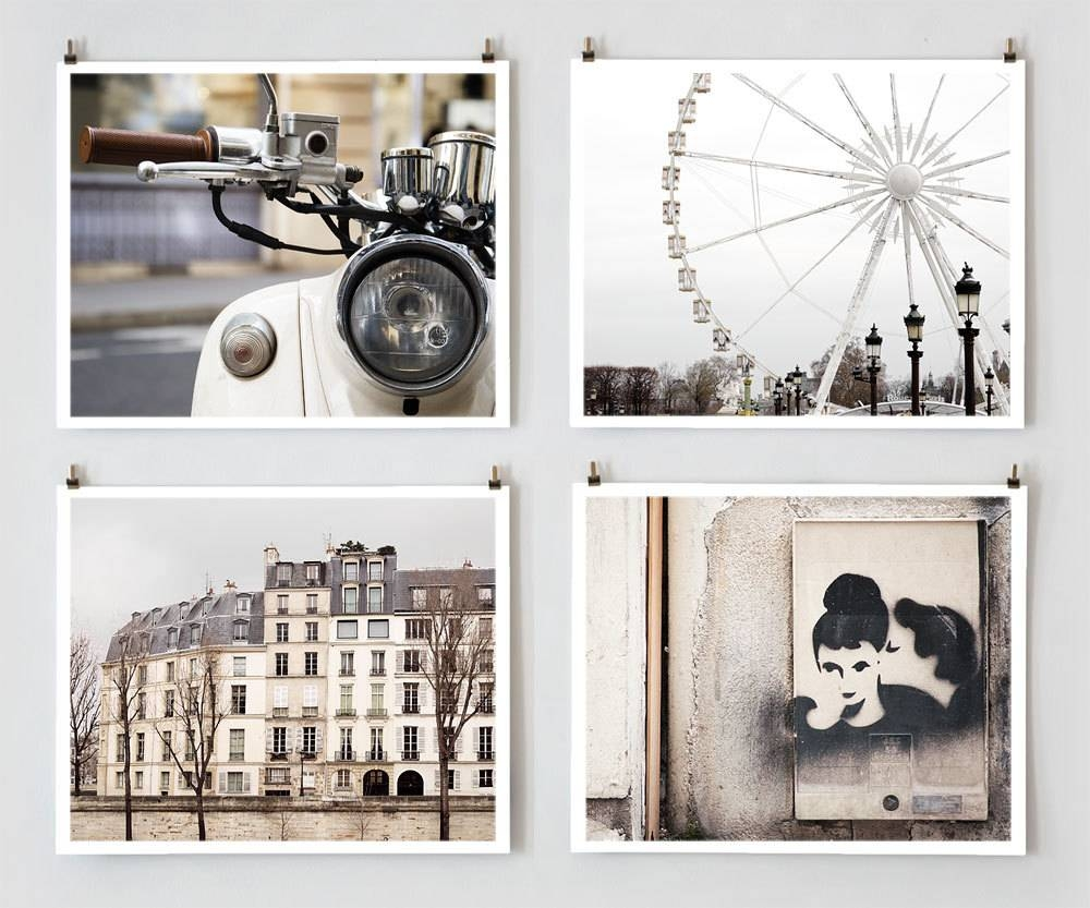 Paris Photography, Gallery Wall Prints, Fine Art Photography For Most Recently Released Large White Wall Art (View 16 of 20)