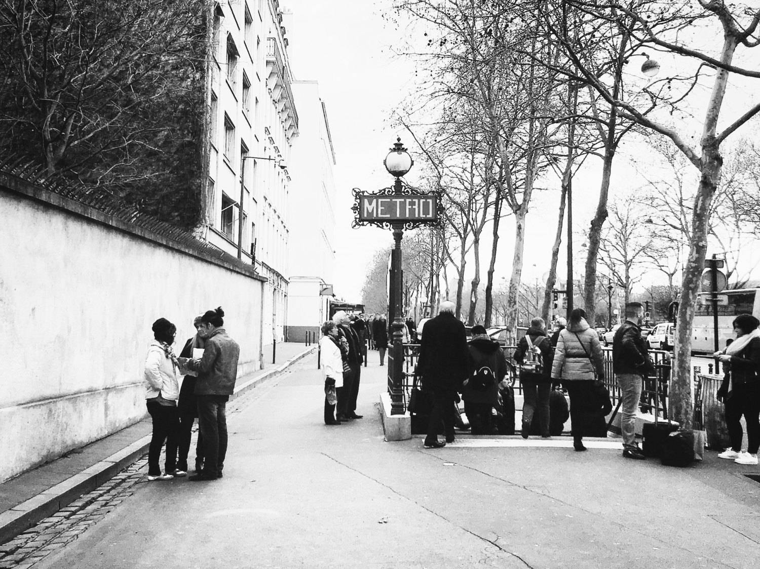 Paris Photography, Paris Metro, Black And White Print, Paris For Latest Black And White Paris Wall Art (View 13 of 25)