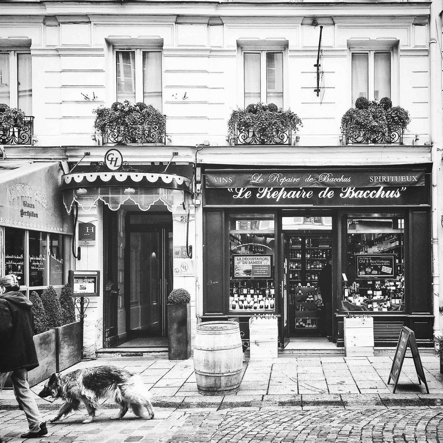 Paris Streets, Bonneroutephotos, Paris Photography, Rue Cler Pertaining To 2018 Black And White Paris Wall Art (View 12 of 25)