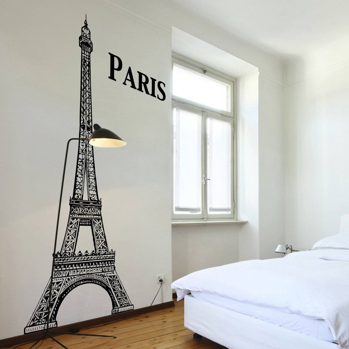 Paris Themed Wall Decals Images – Home Wall Decoration Ideas Throughout Current Paris Themed Stickers (View 13 of 15)