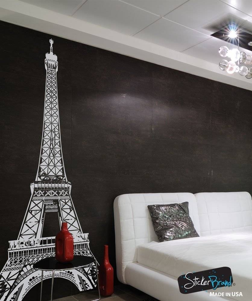 Paris Wall Decor With Regard To Latest Eiffel Tower Wall Hanging Art (View 10 of 20)