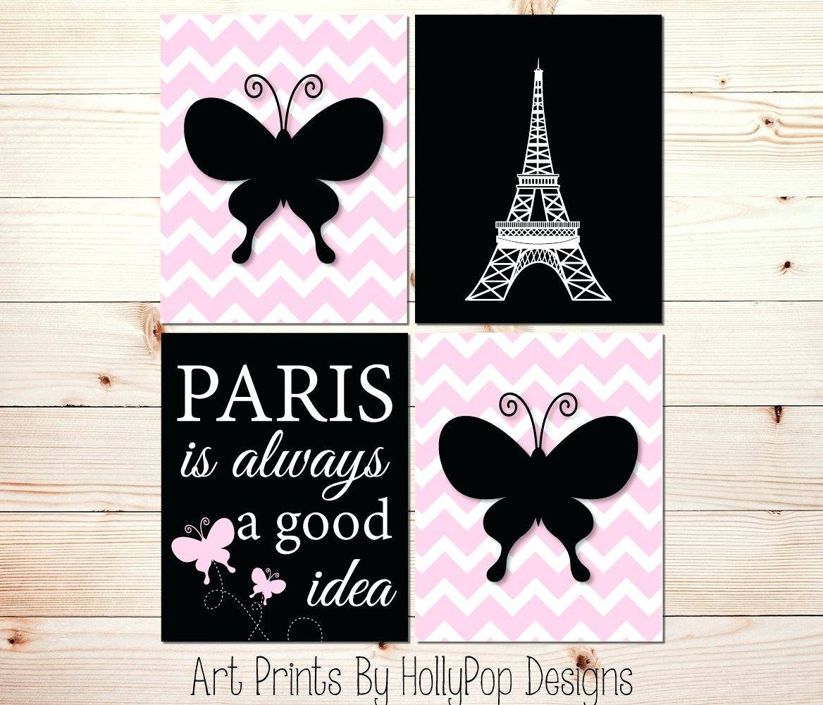 Parisian Wall Decals – Gutesleben With Regard To Most Current Black And White Paris Wall Art (View 23 of 25)