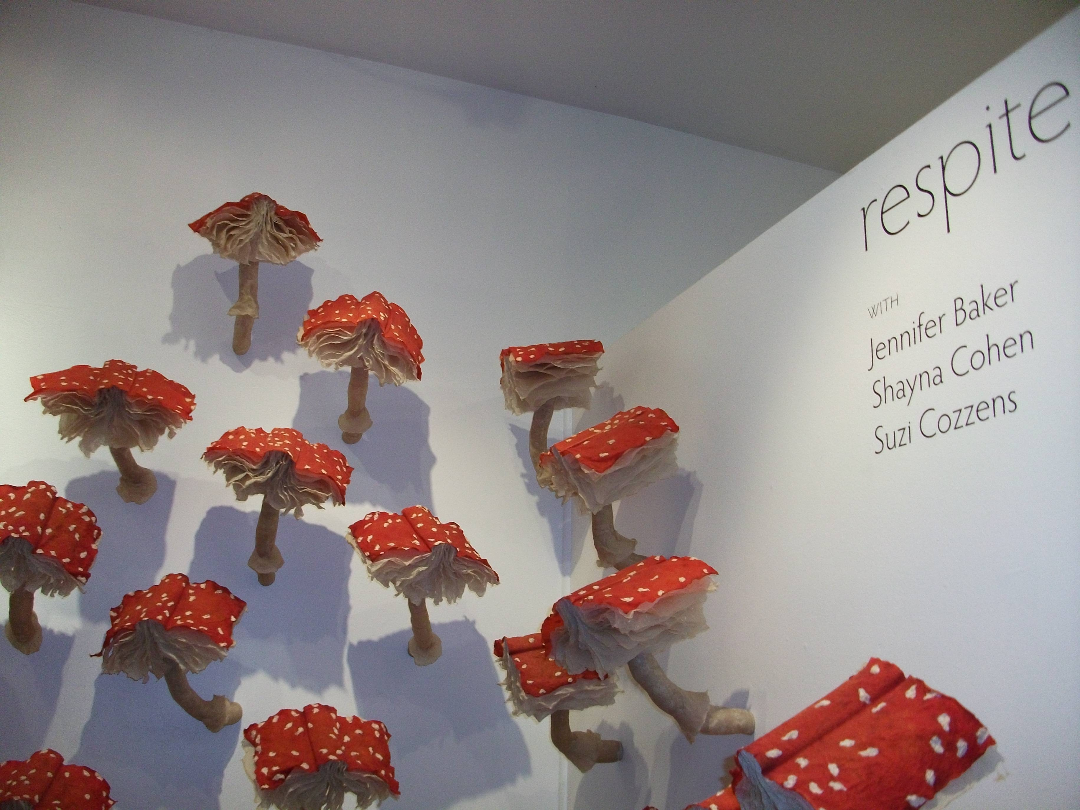 Partying In Pilsen Art Galleries | Tara & Karina Go Out Intended For Most Current Mushroom Wall Art (View 5 of 20)