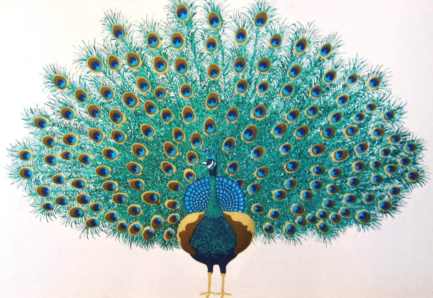 Peacock Images Art | Free Download Clip Art | Free Clip Art | On Pertaining To Most Recent Metal Peacock Wall Art (View 17 of 20)