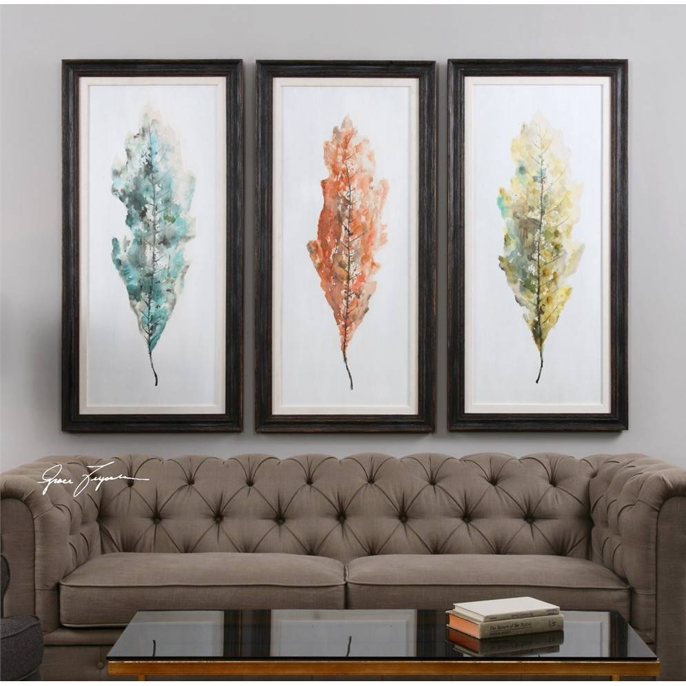 Perfect Decoration 3 Piece Framed Wall Art Pretty Design Brayden With Most Current 3 Piece Abstract Wall Art (Gallery 6 of 16)