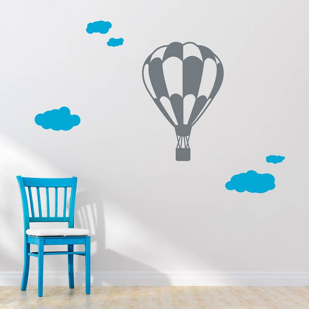 Perfect Decoration Hot Air Balloon Wall Art Bold Design Hot Air Throughout Best And Newest Air Balloon 3d Wall Art (View 10 of 20)