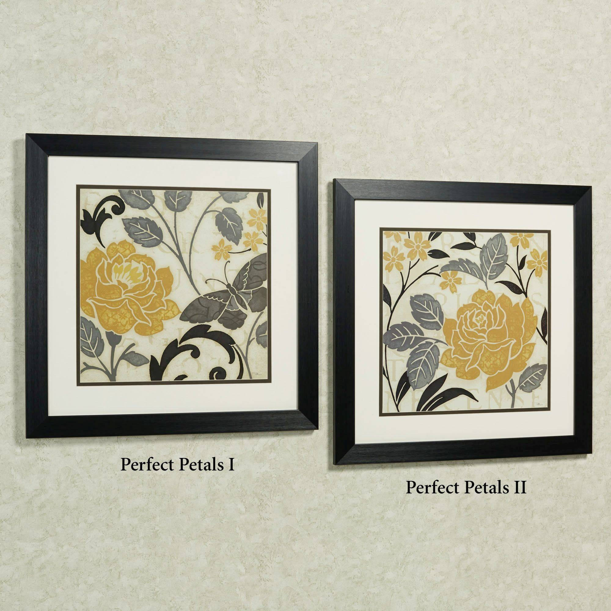 Perfect Petals Framed Floral Wall Art Throughout 2018 Black And White Framed Wall Art (View 15 of 20)