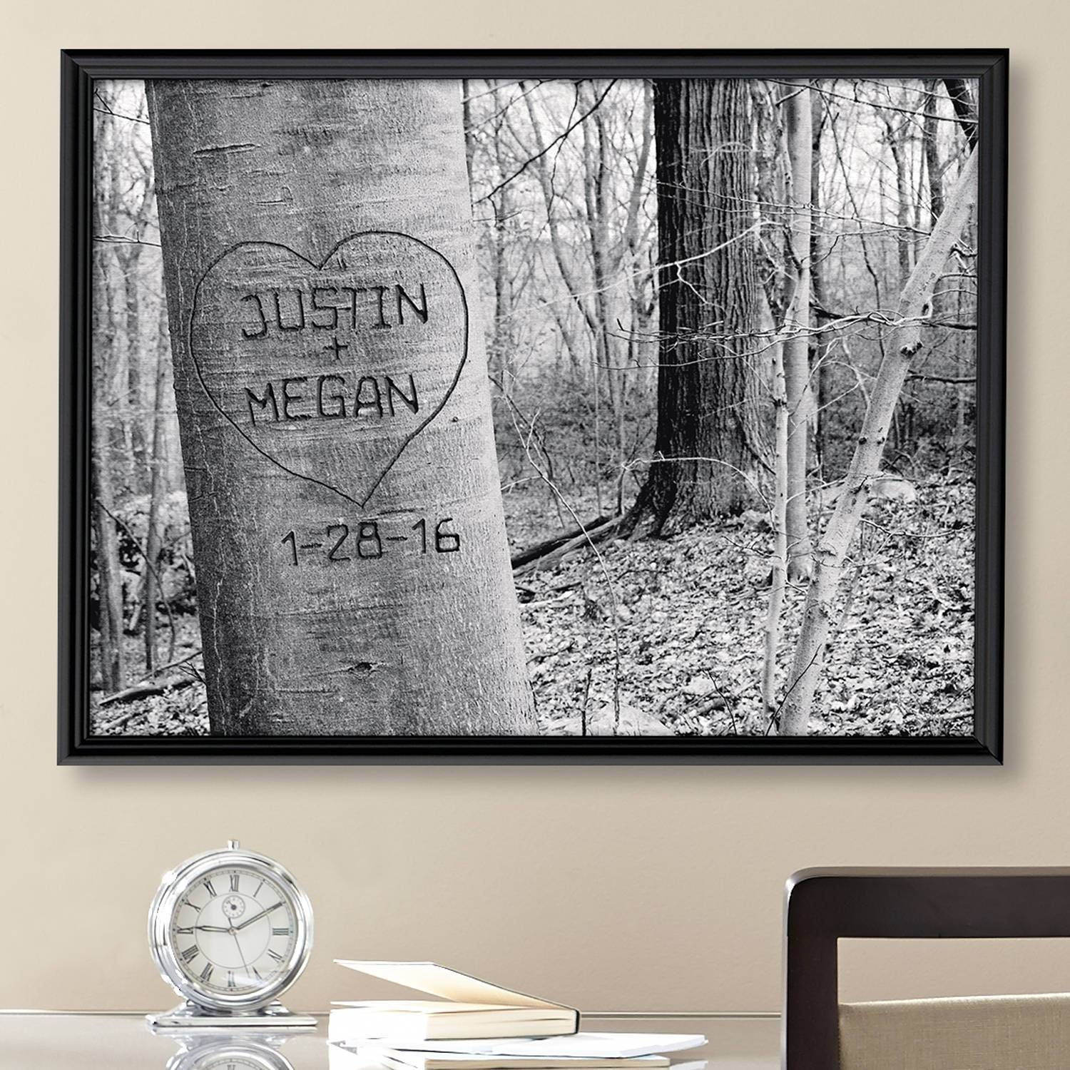 Personalized Canvas Wall Art – Walmart Inside Most Recently Released Custom Canvas Art With Words (View 4 of 20)